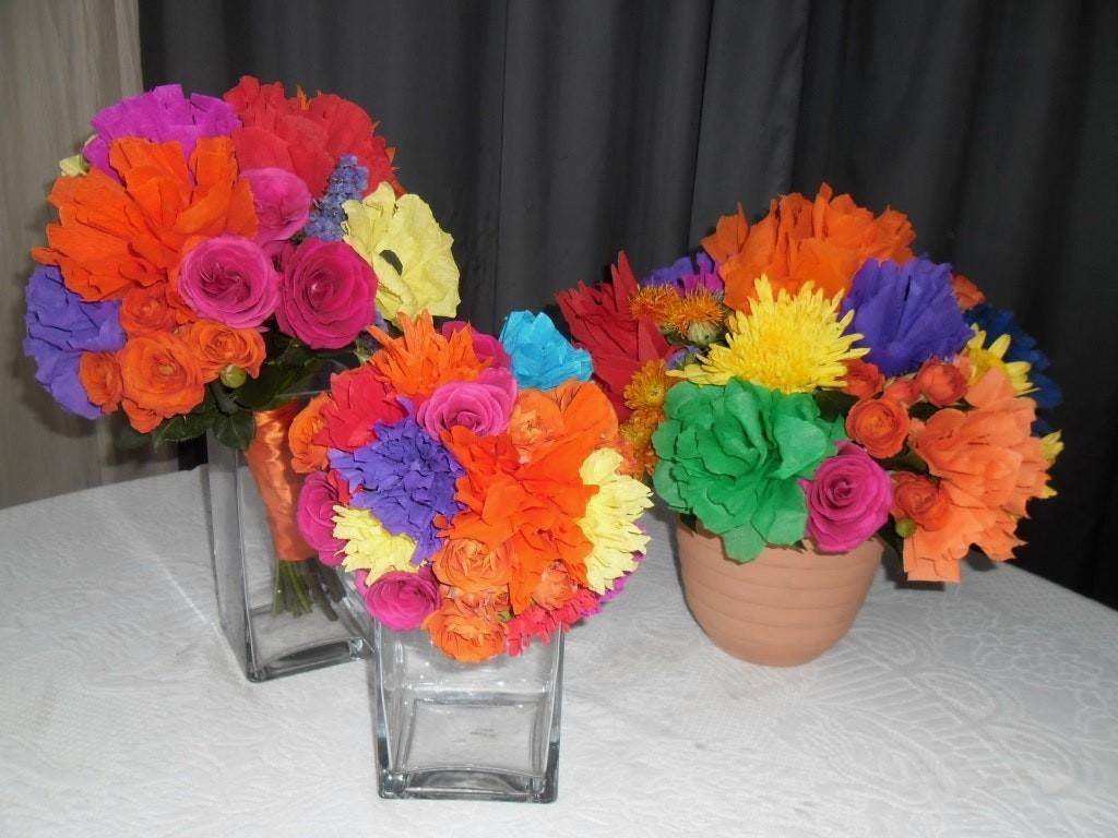 Diy Mexican Paper Flowers Choice Flower