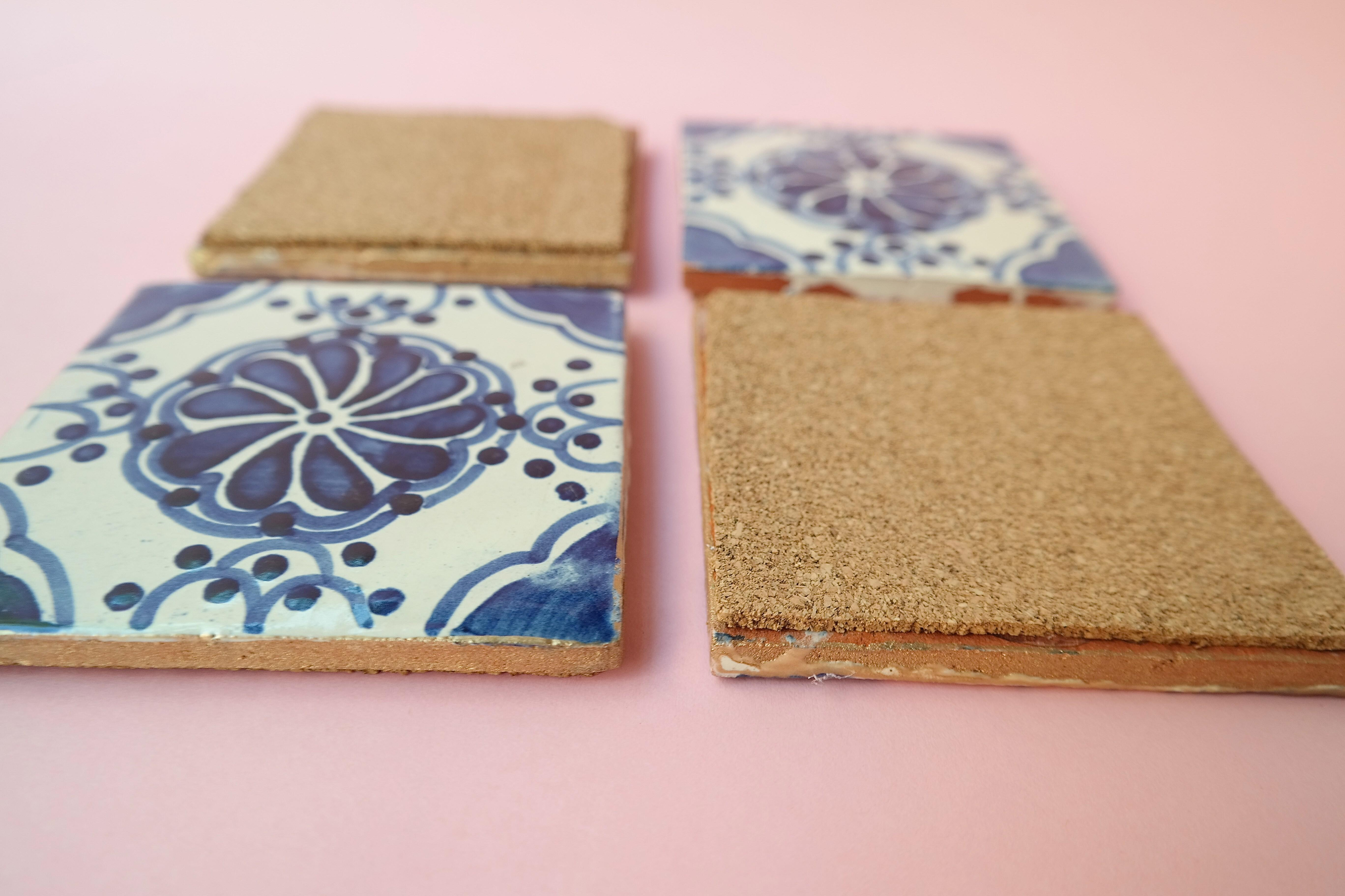 Diy Mexican Tile Coasters Austin Styled