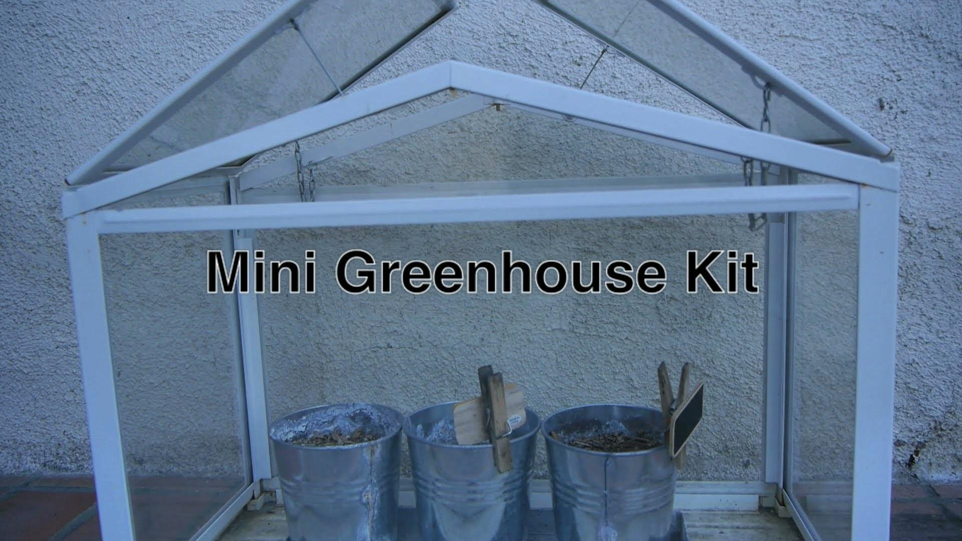 Diy Mini Greenhouse Kits Sale Small Indoor