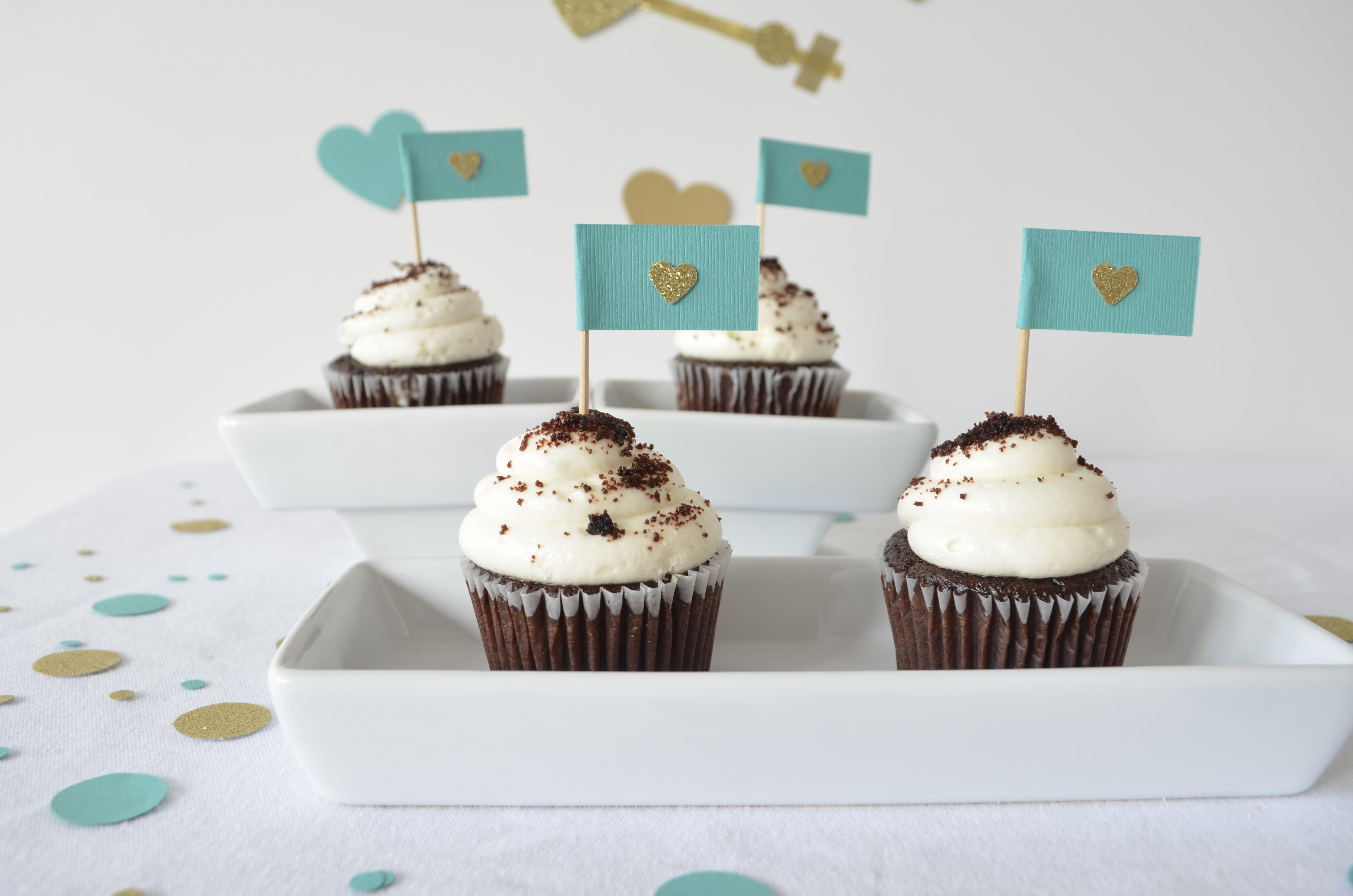 Diy Miniature Cupcake Flags Best Friends Frosting