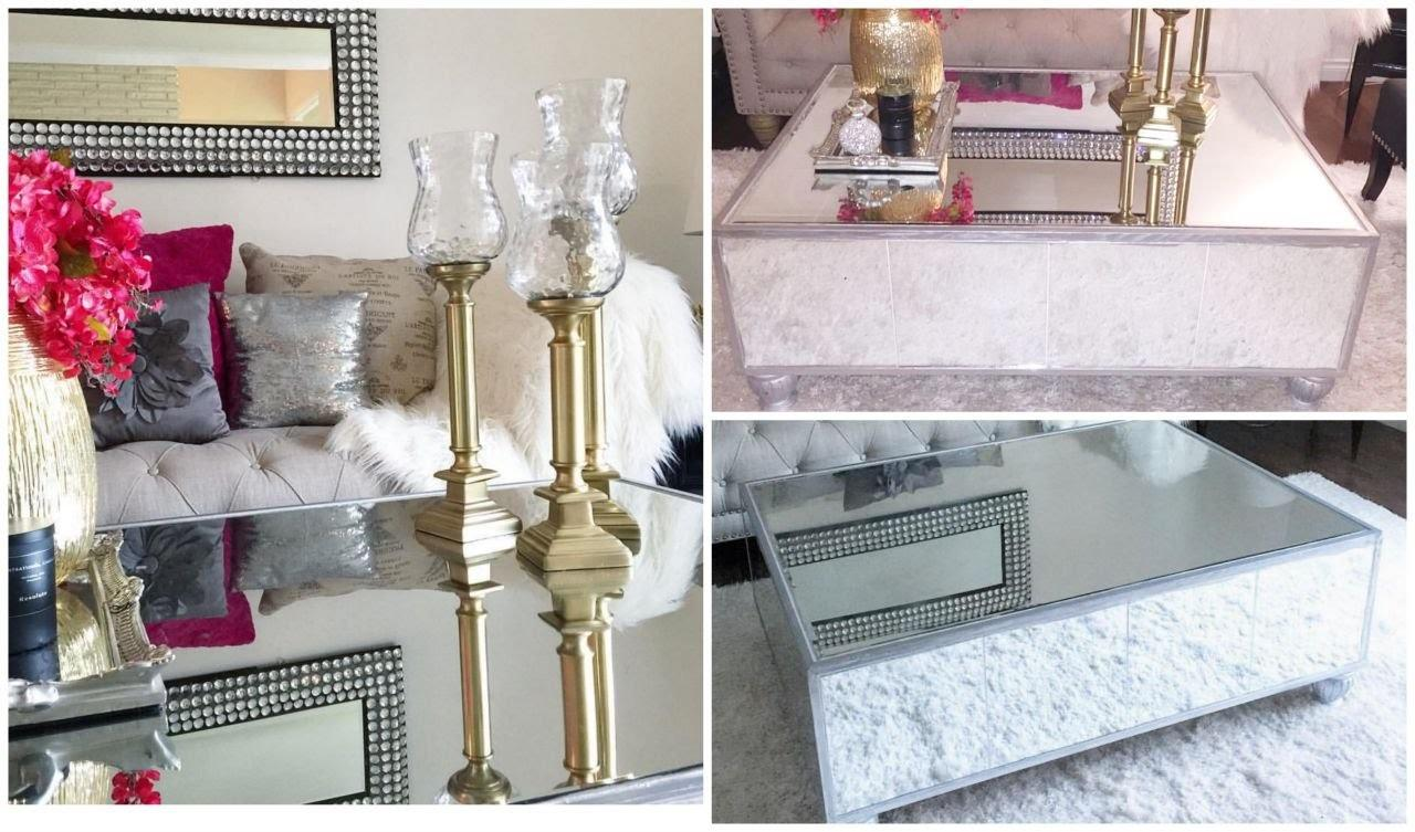 Diy Mirrored Coffee Table Haz Mesa Espejo