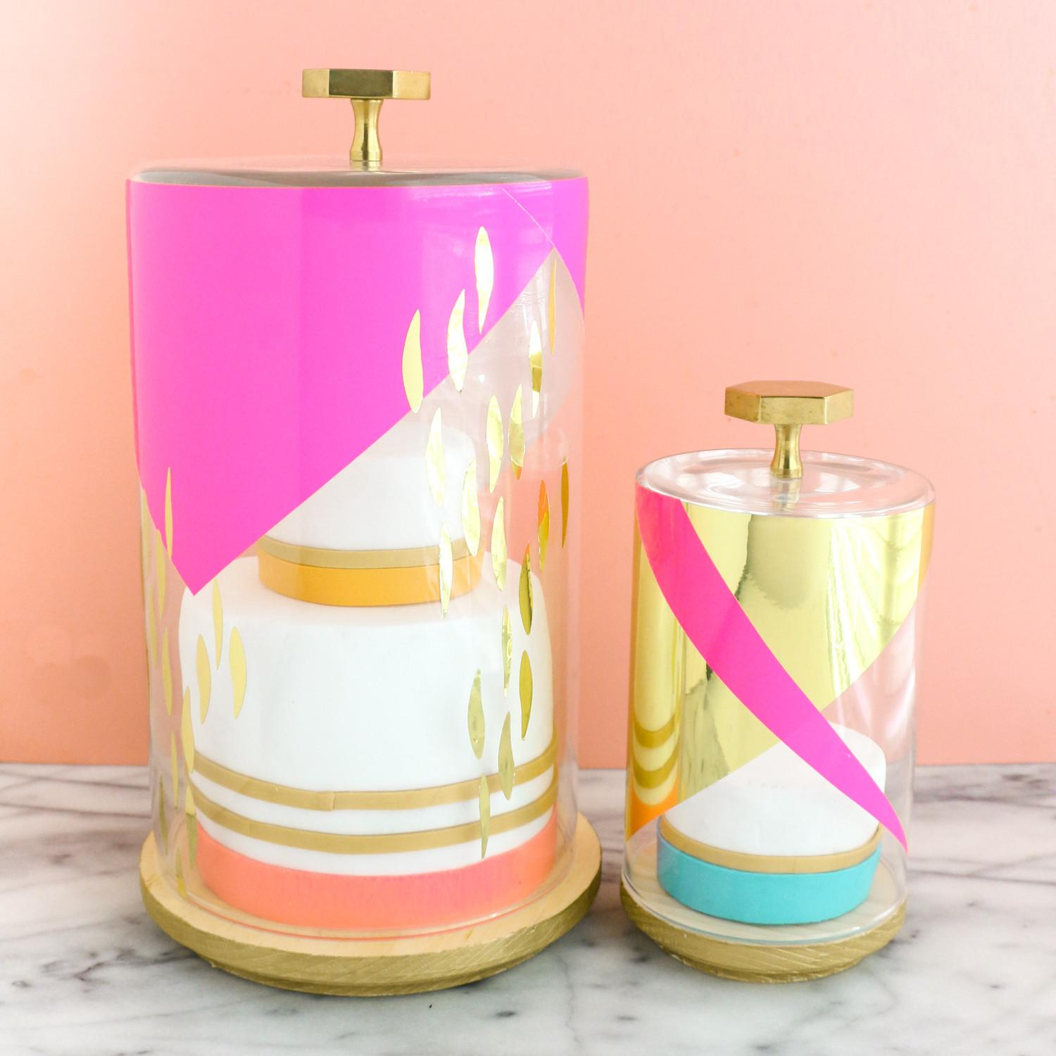 Diy Modern Cake Stands Kailo Chic Life