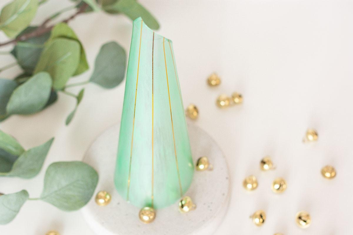 Diy Modern Cone Christmas Tree