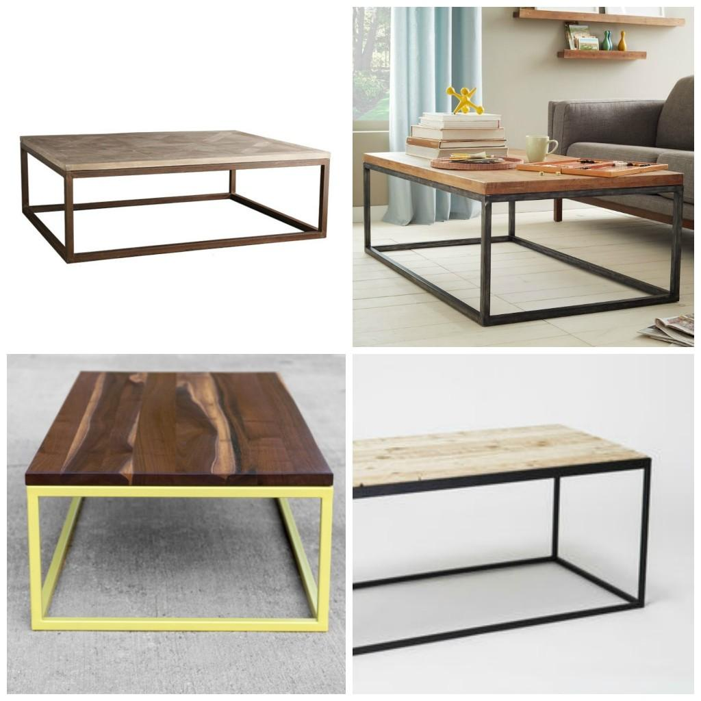 Diy Modern Metal Coffee Table Aka Time Attempted