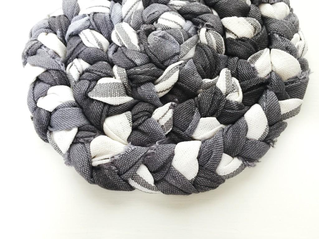 Diy Monochrome Braided Trivet Row House Nest