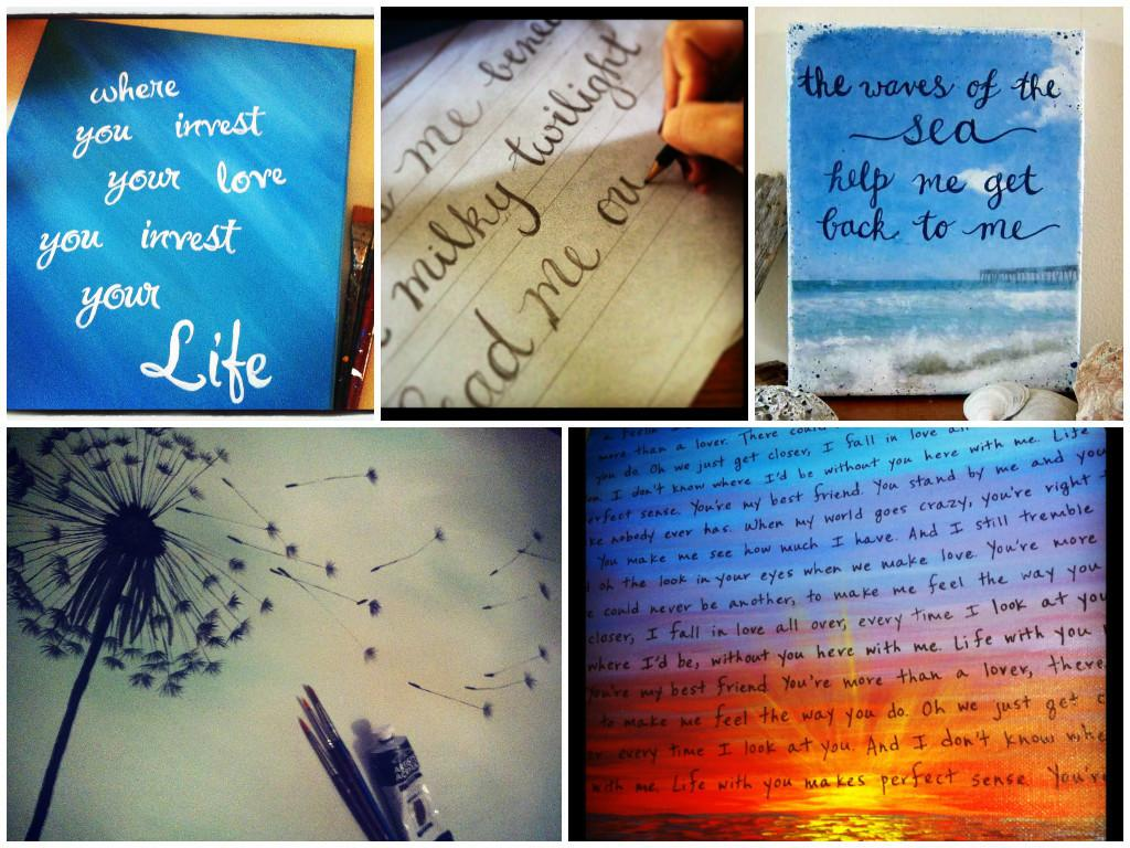 Diy More Ways Paint Personalized Quotes Canvas