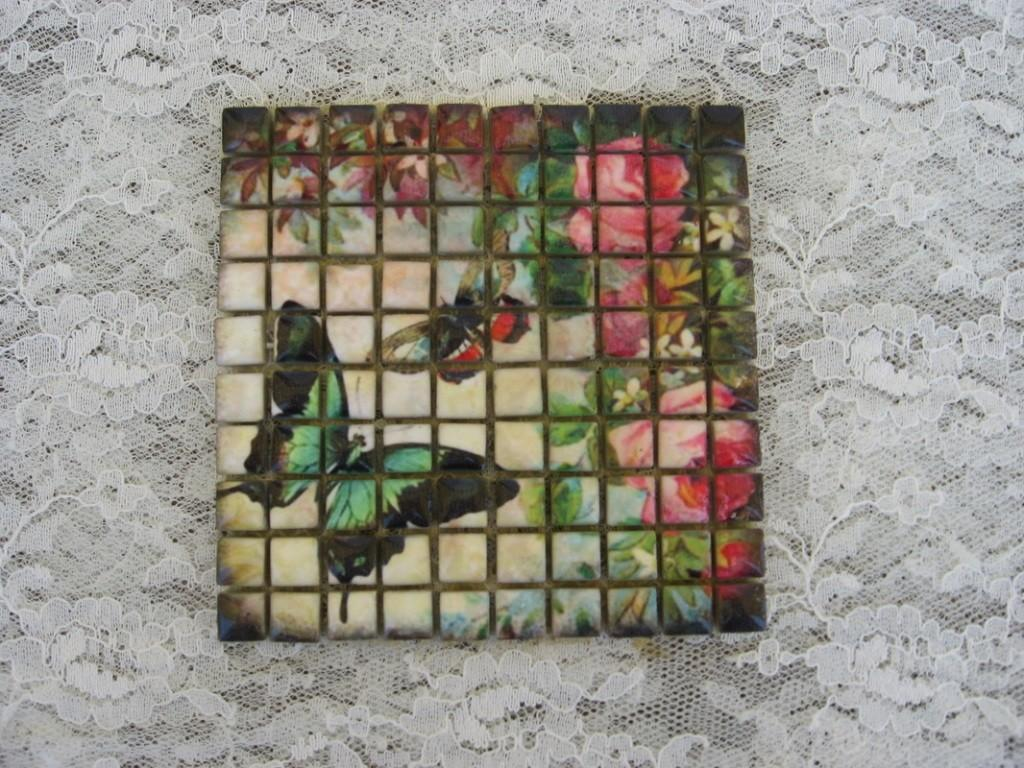 Diy Mosaic Tile Crafts House Photos Glass