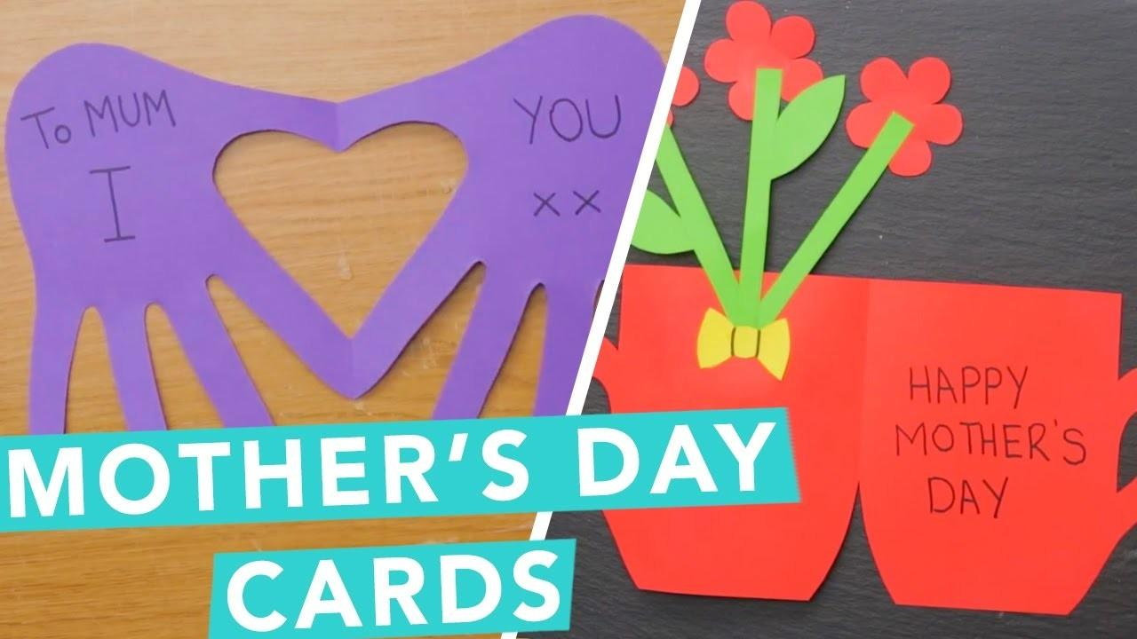 Diy Mother Day Card Ideas Nailed