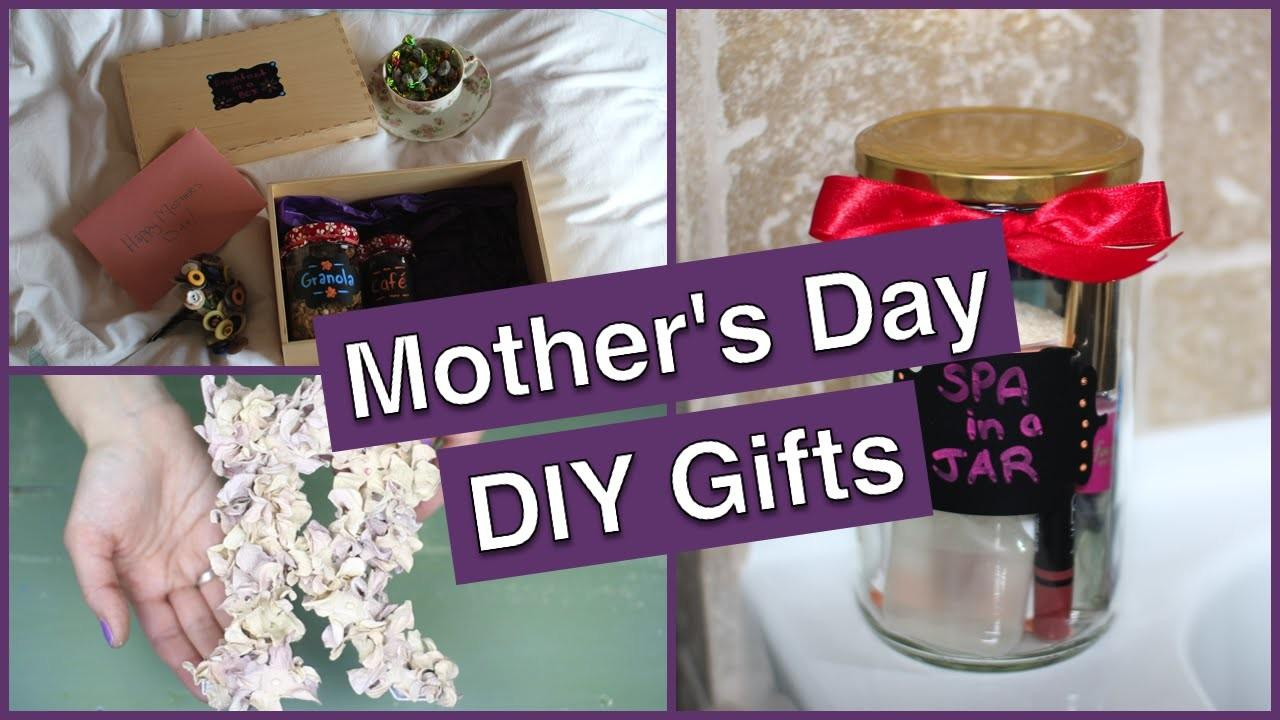 Diy Mother Day Gifts Breakfast Box Spa Jar