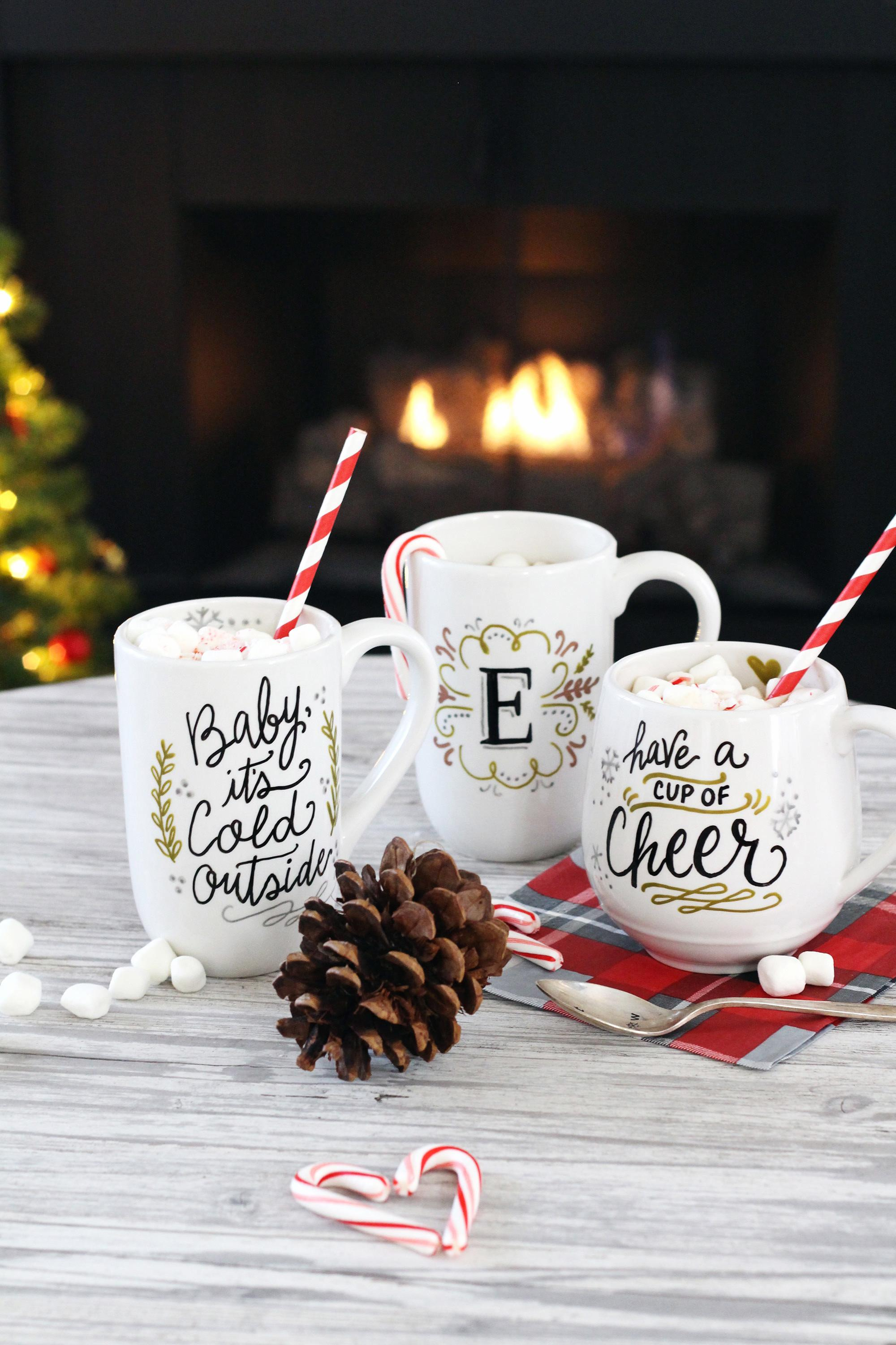 Diy Mug Gifts Using Paintedbyme Bake Home Ceramics