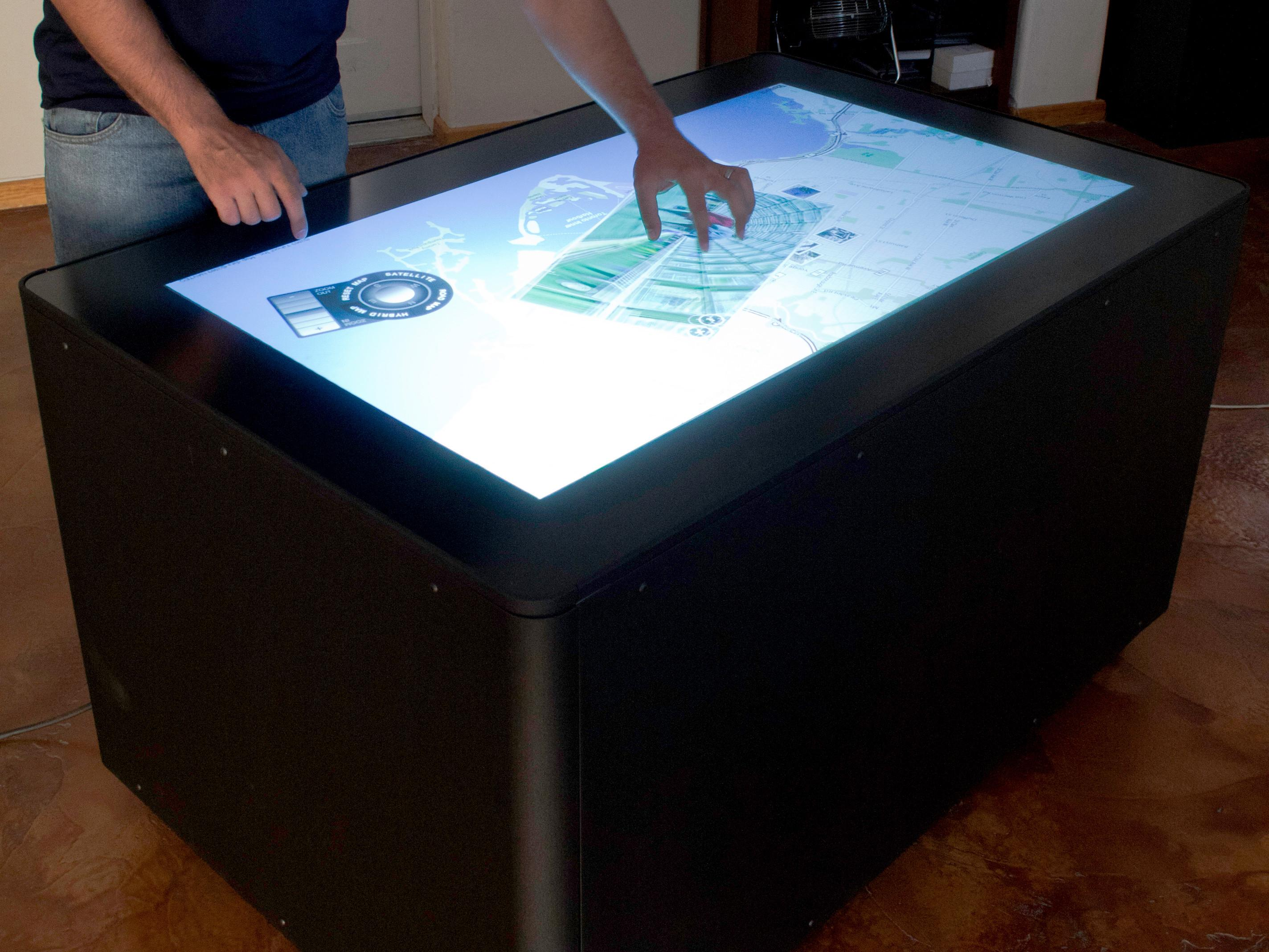Diy Multitouch Table Make