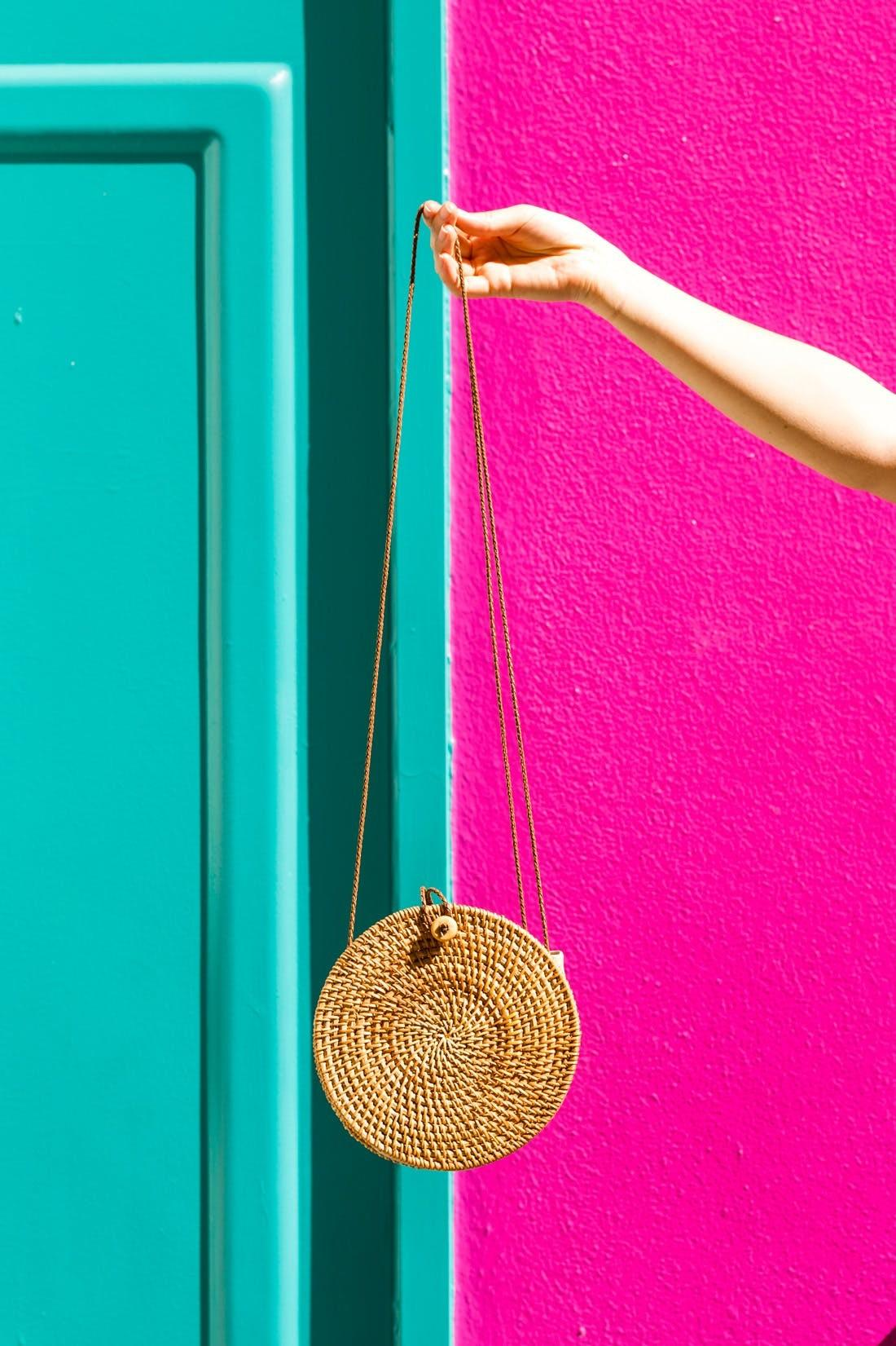 Diy Must Have Straw Circle Bag Brit