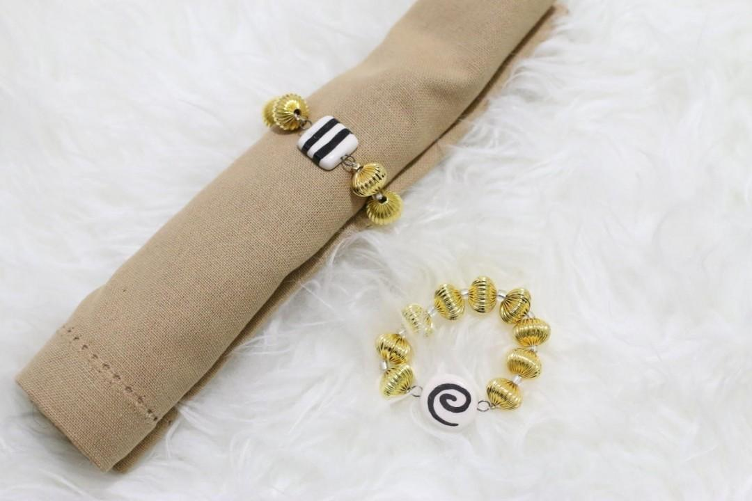 Diy Napkin Rings Styleanthropy Home