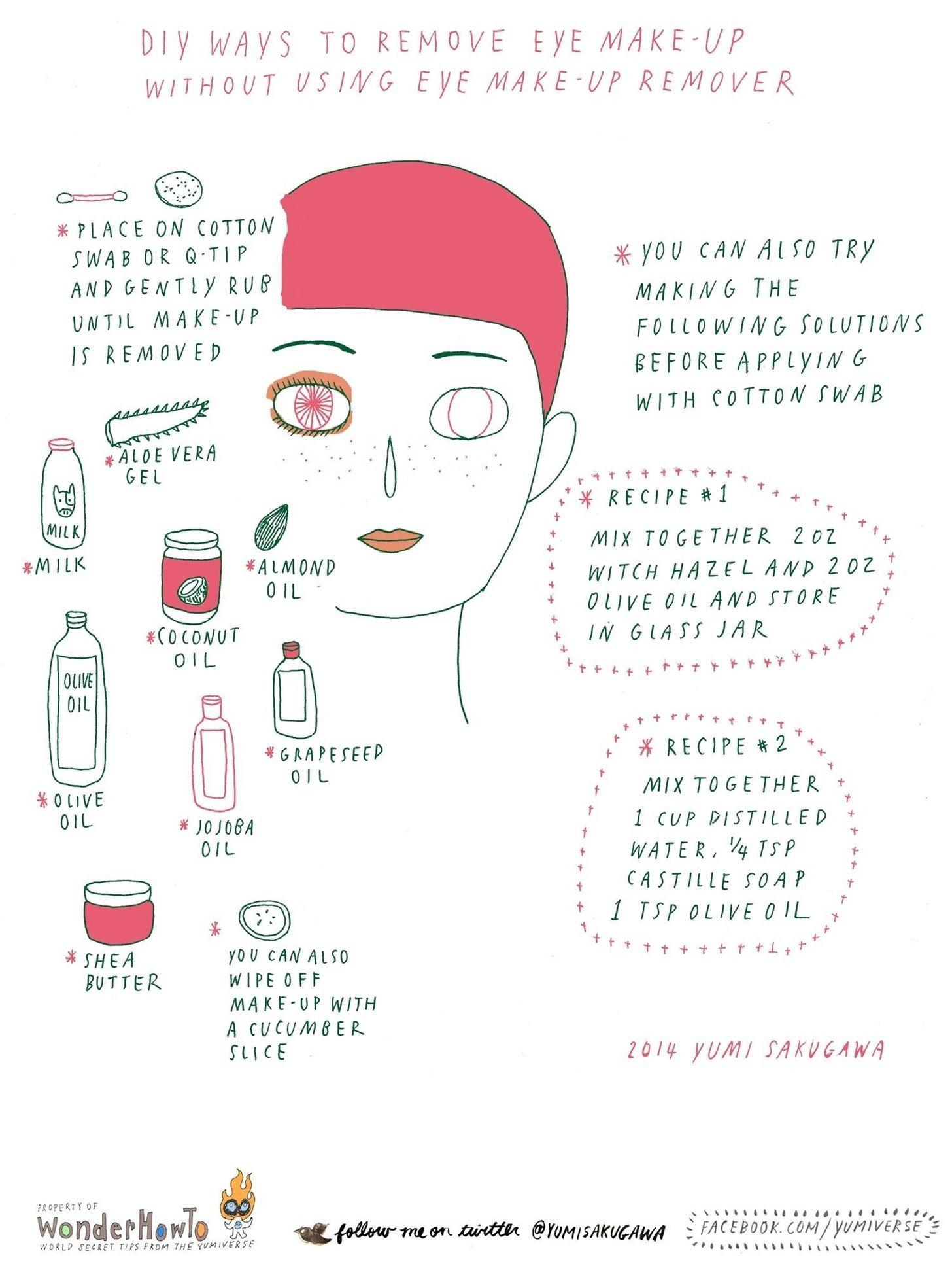 Diy Natural Makeup Remover Wipes Projects