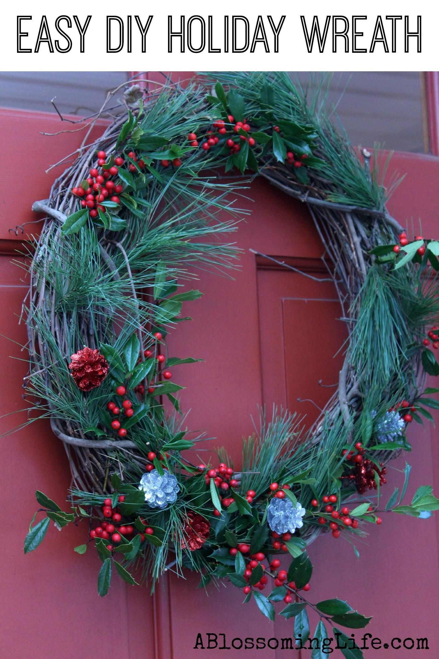 Diy Natural Wreath