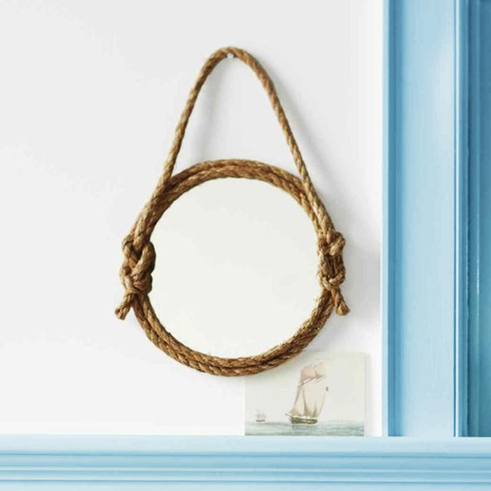 Diy Nautical Rope Mirror