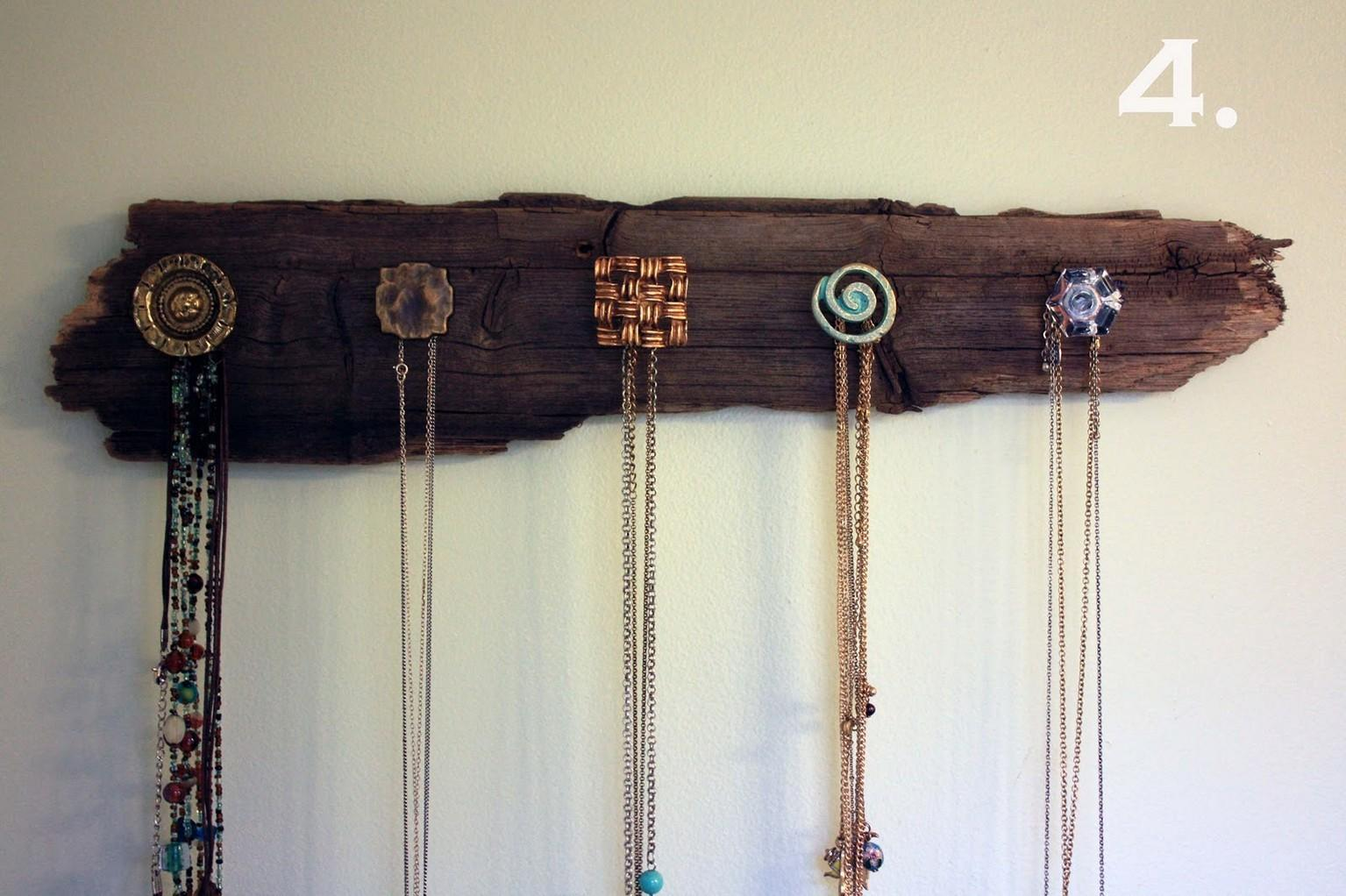 Diy Necklace Holder Fun Ways Hanging Jewelries