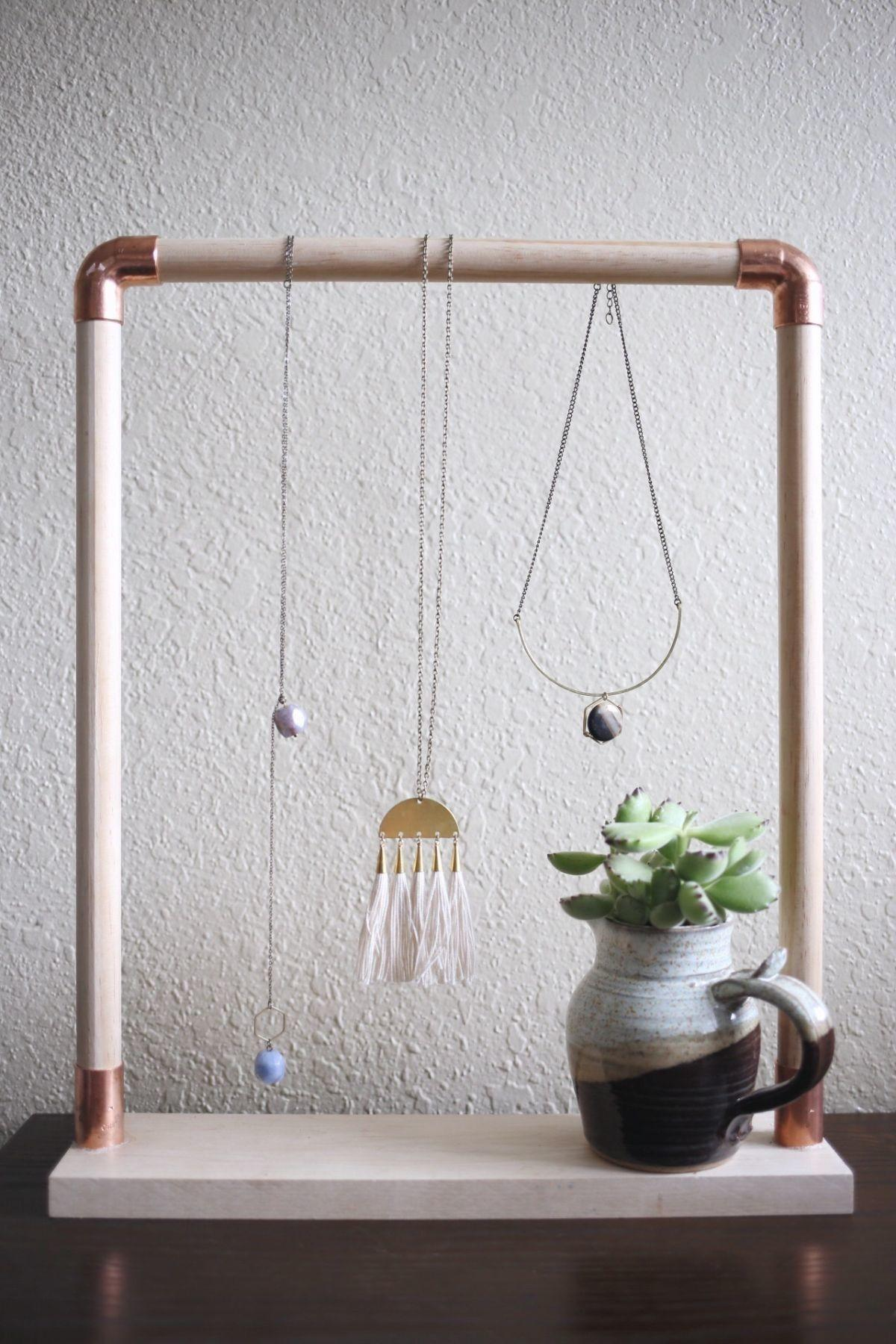 Diy Necklace Holder Ideas Spark Your Imagination
