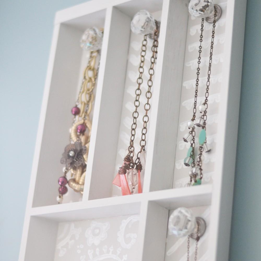Diy Necklace Holder Knobs Inspirational