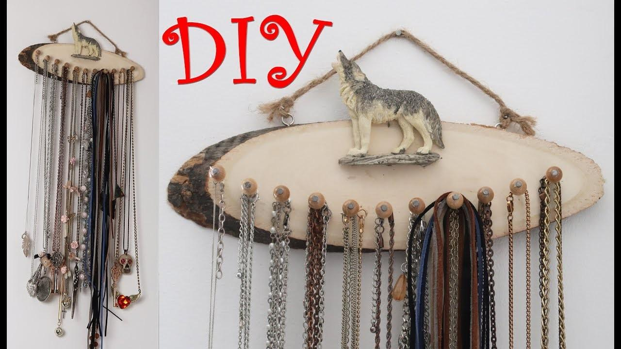 Diy Necklace Organizer Jewelry Giveaway