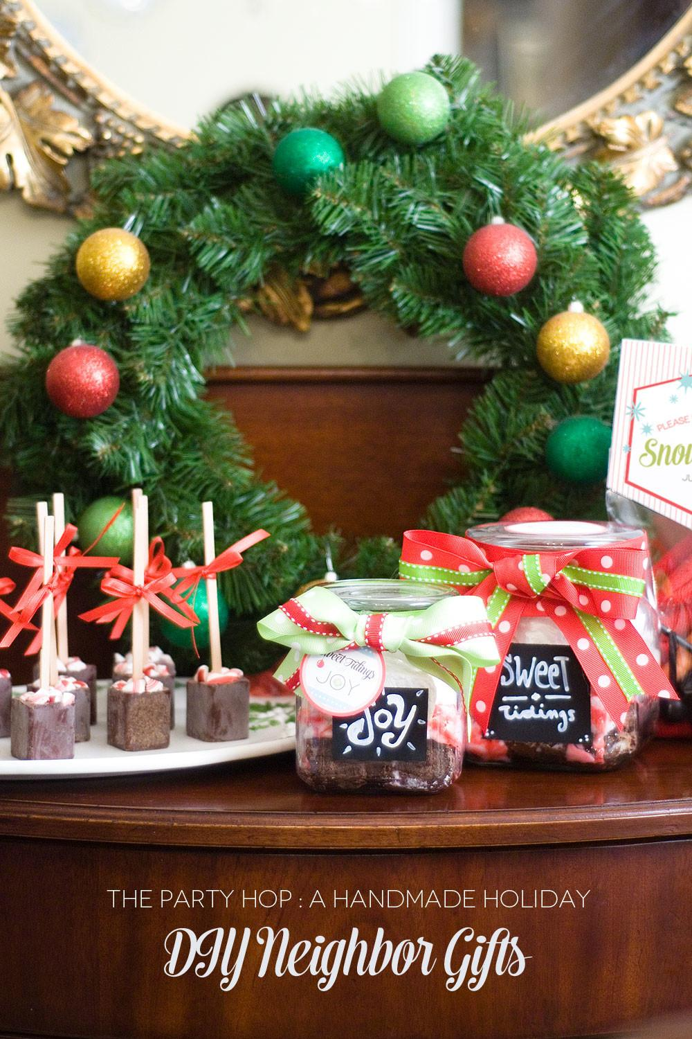 Diy Neighbor Christmas Gifts Creative Juice