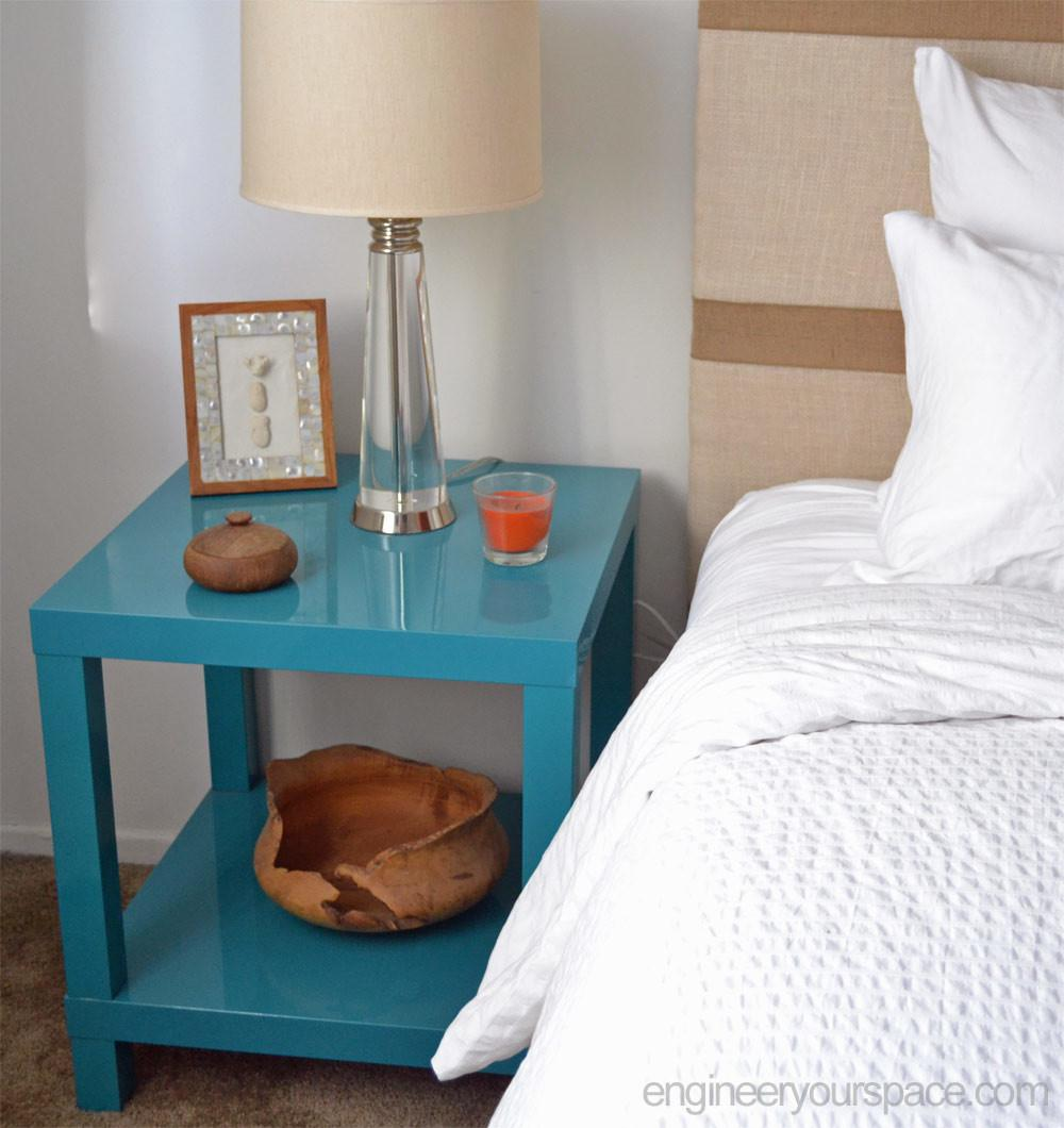 Diy Nightstand Lack Table Hack Smart Solutions
