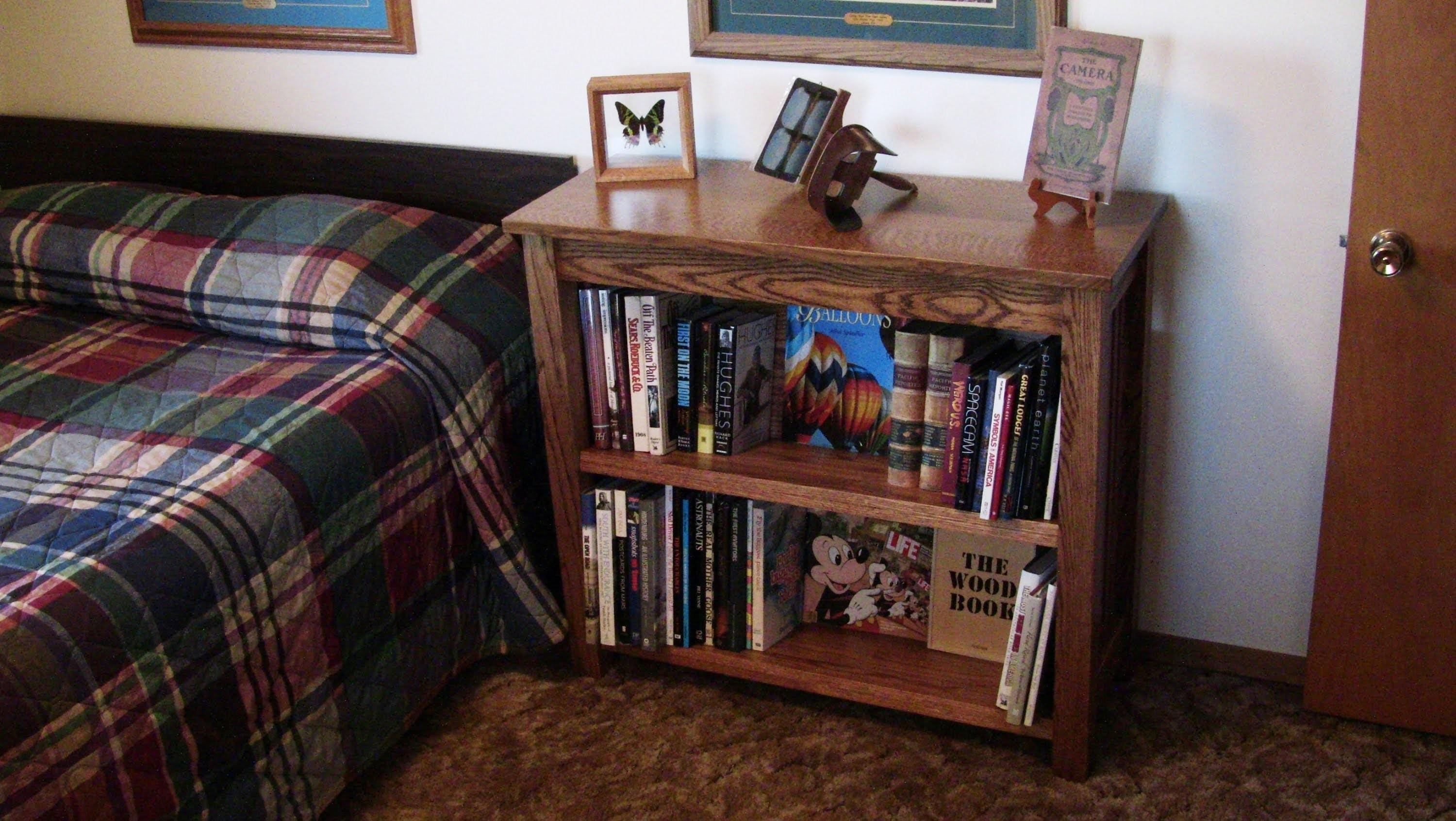 Diy Oak Mission Bookcase Create Family Heirloom
