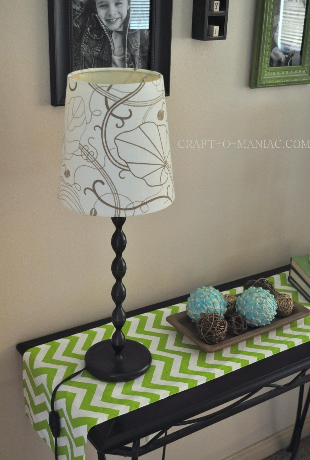 Diy Ombre Lamp Shade Vamp Craft Maniac