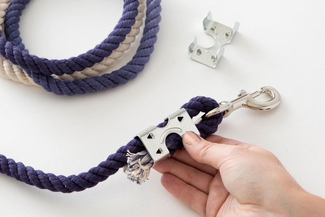 Diy Ombre Rope Leash Your Stylish Pup Brit