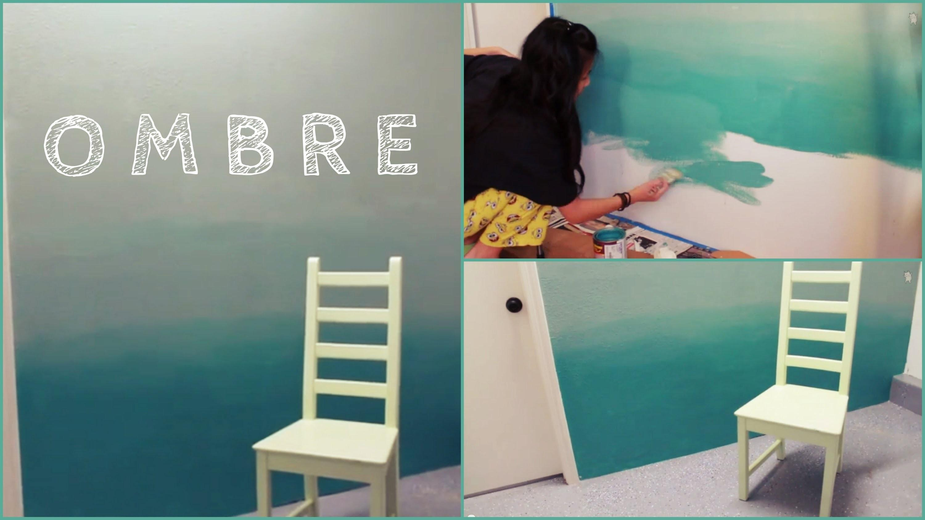 Diy Ombre Wall Paint Tips