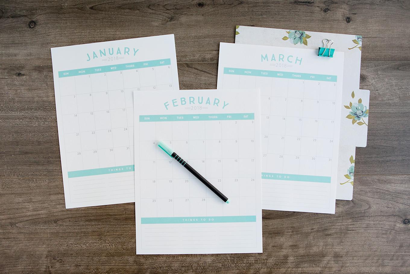 Diy Organization Projects 2018 Printable