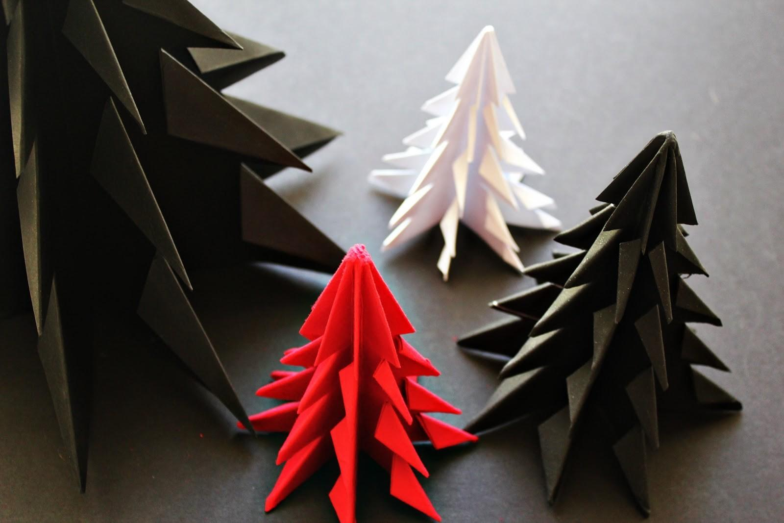 Diy Origami Christmas Tree Yourself