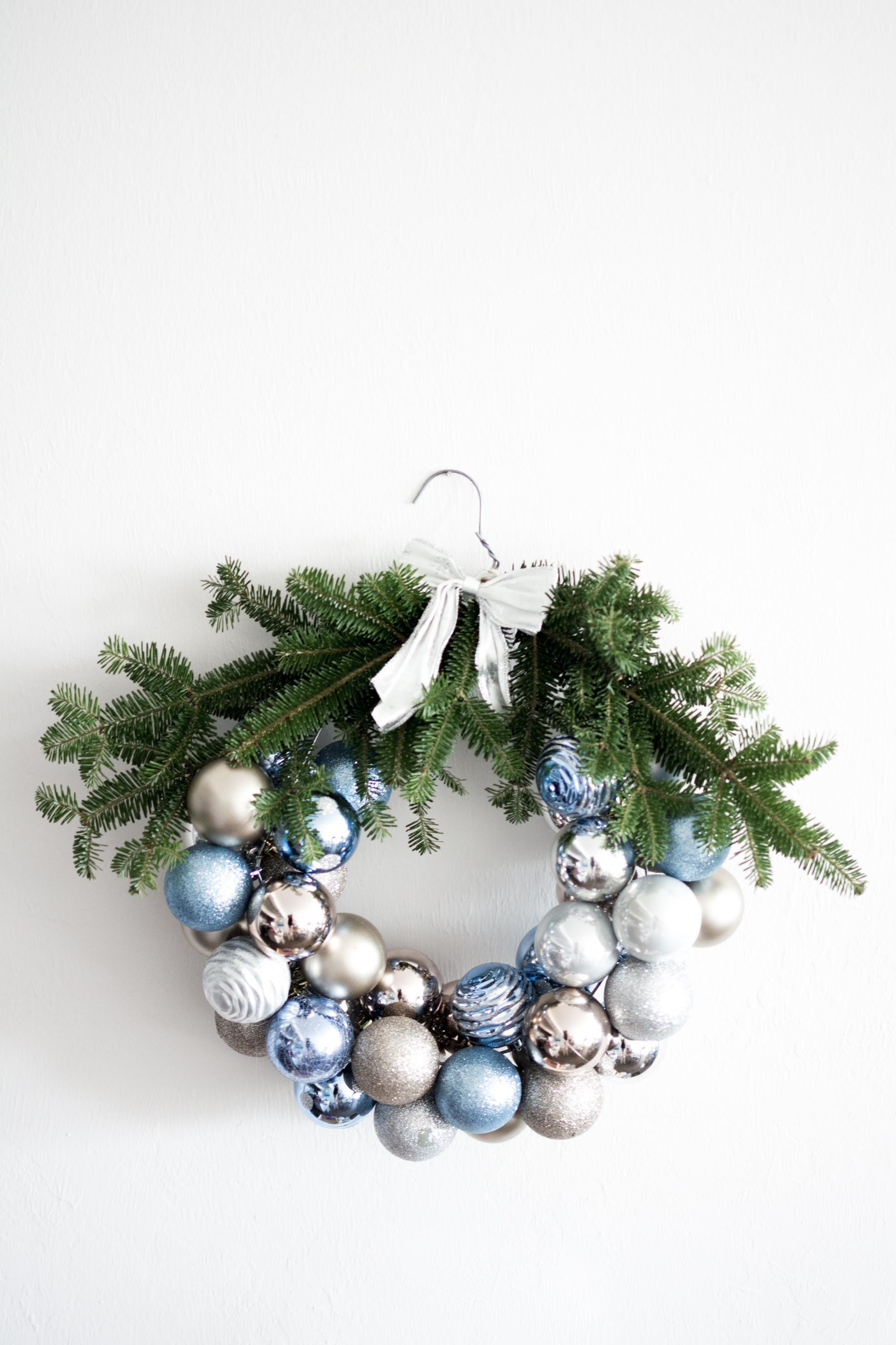 Diy Ornament Wreath Munchkins Military Make