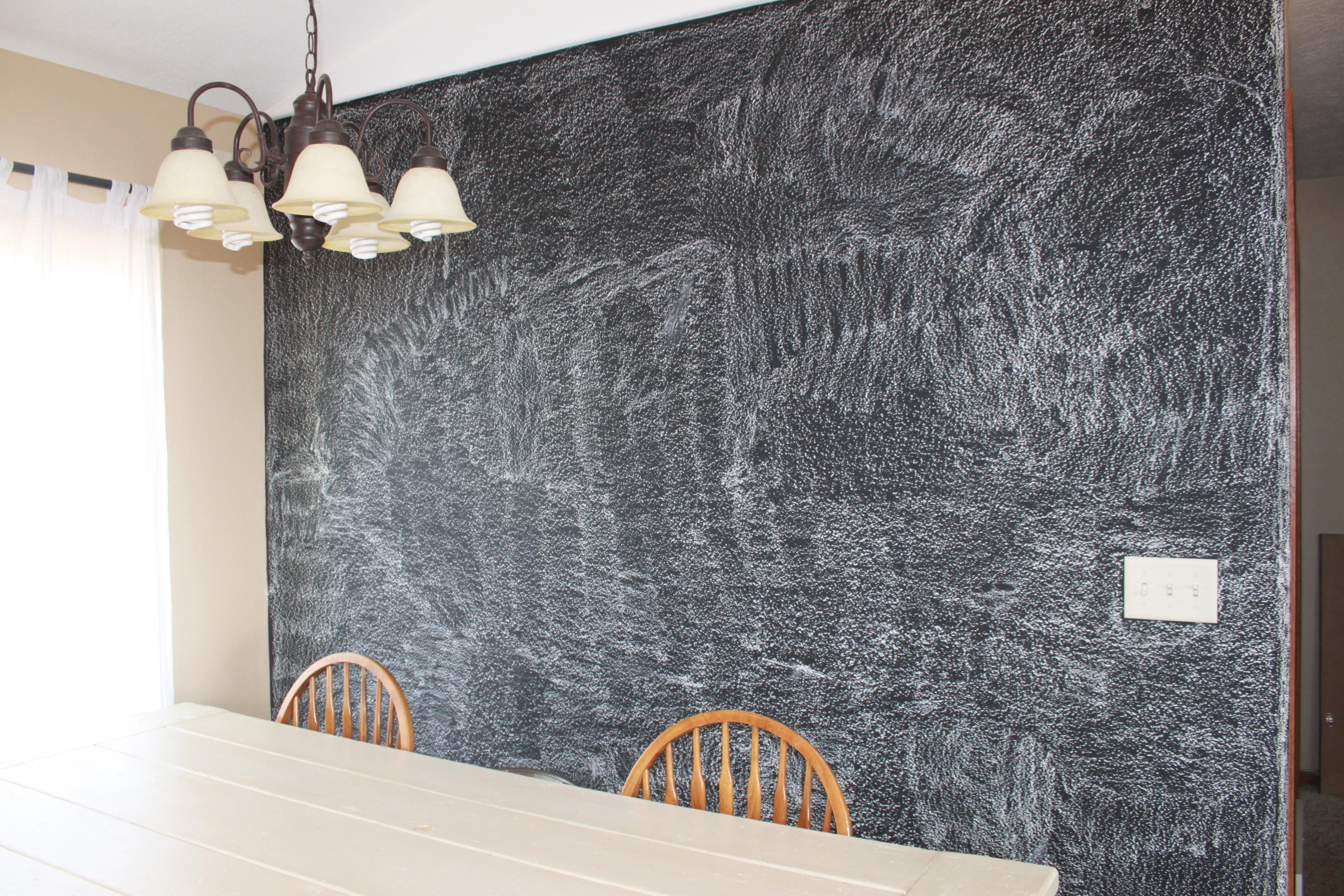 Diy Our Chalkboard Wall Family Roost