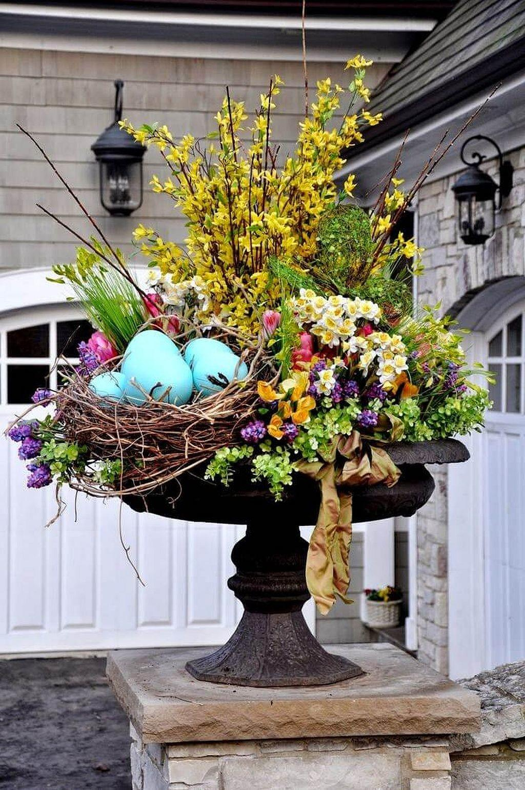 Diy Outdoor Easter Decorating Ideas Architecturemagz