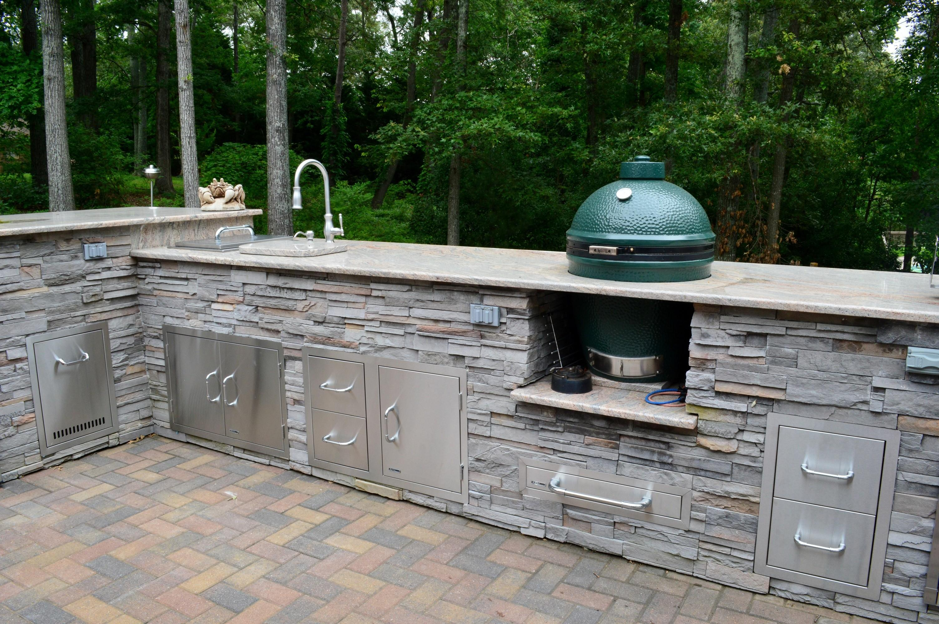 Diy Outdoor Kitchen Kits Decor Design Ideas