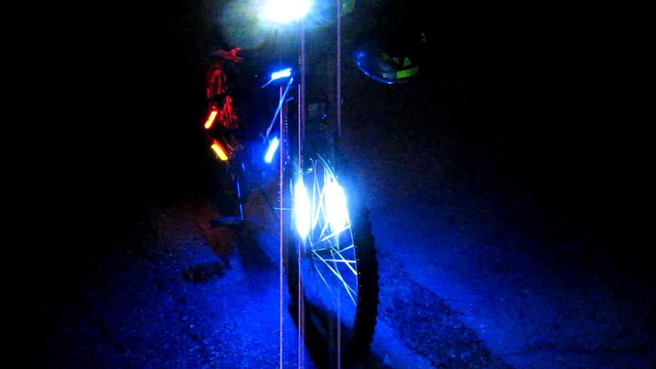 Diy Outdoor Led Bike Bicycle Lights Night Part Two