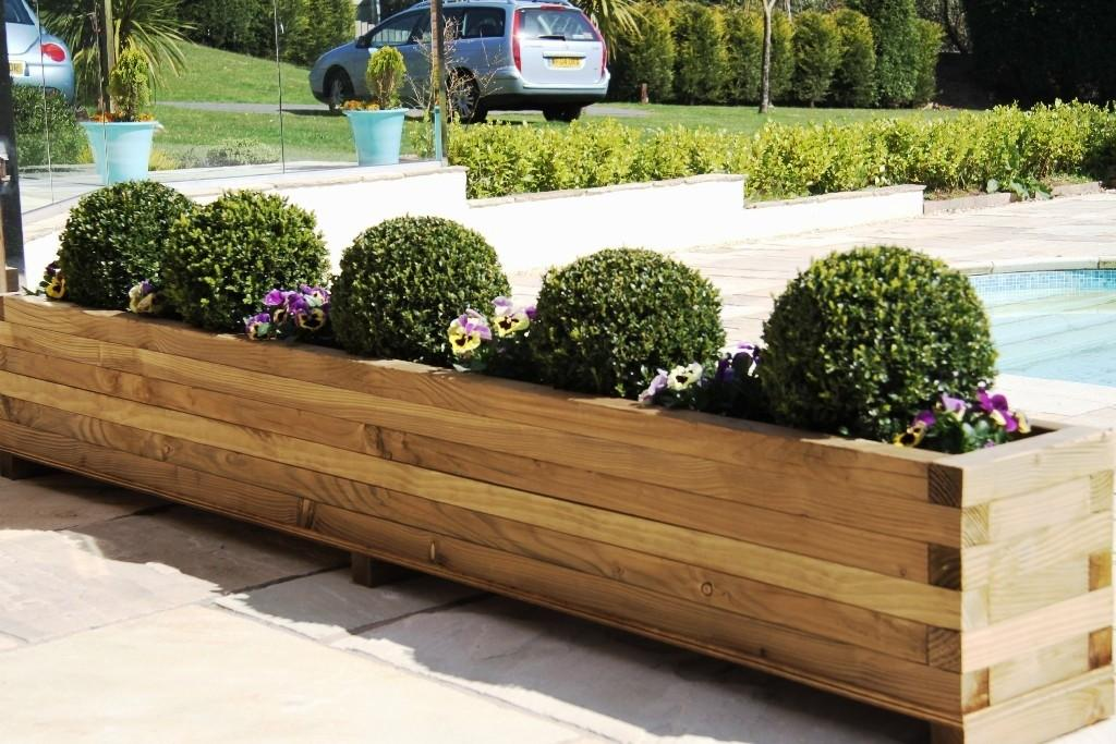 Diy Outdoor Planters Large Modern