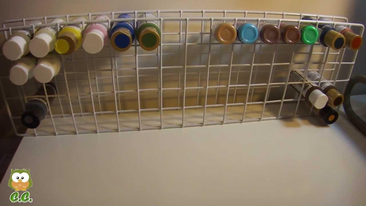 Diy Paint Holder Make Cheap Simple