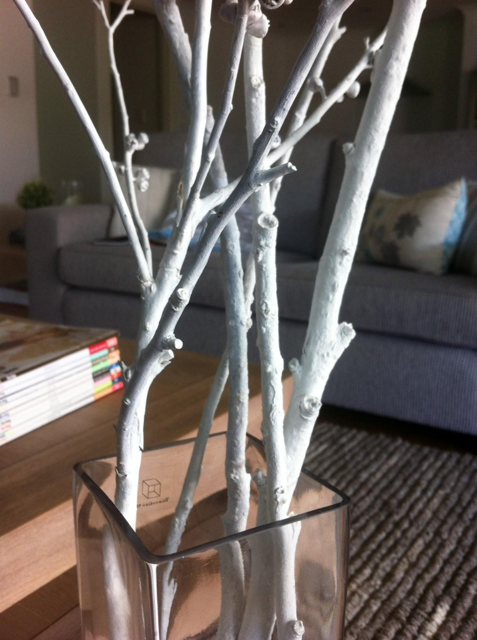 Diy Painted Branches Conflict Ideas