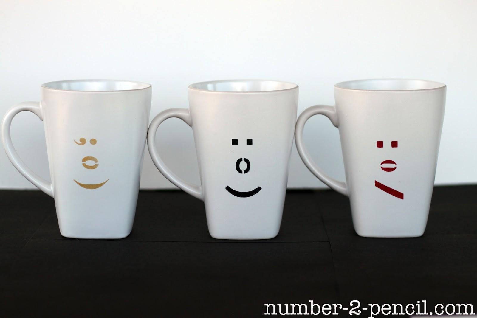 Diy Painted Ceramic Mugs Martha Stewart Glass Paint