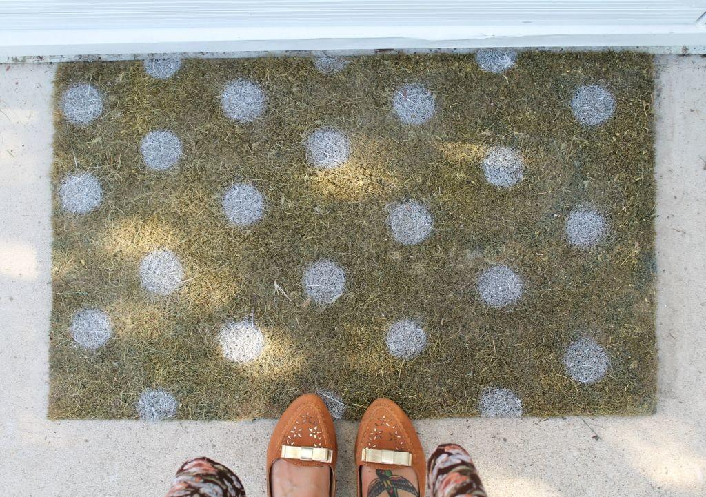 Diy Painted Doormat Modern