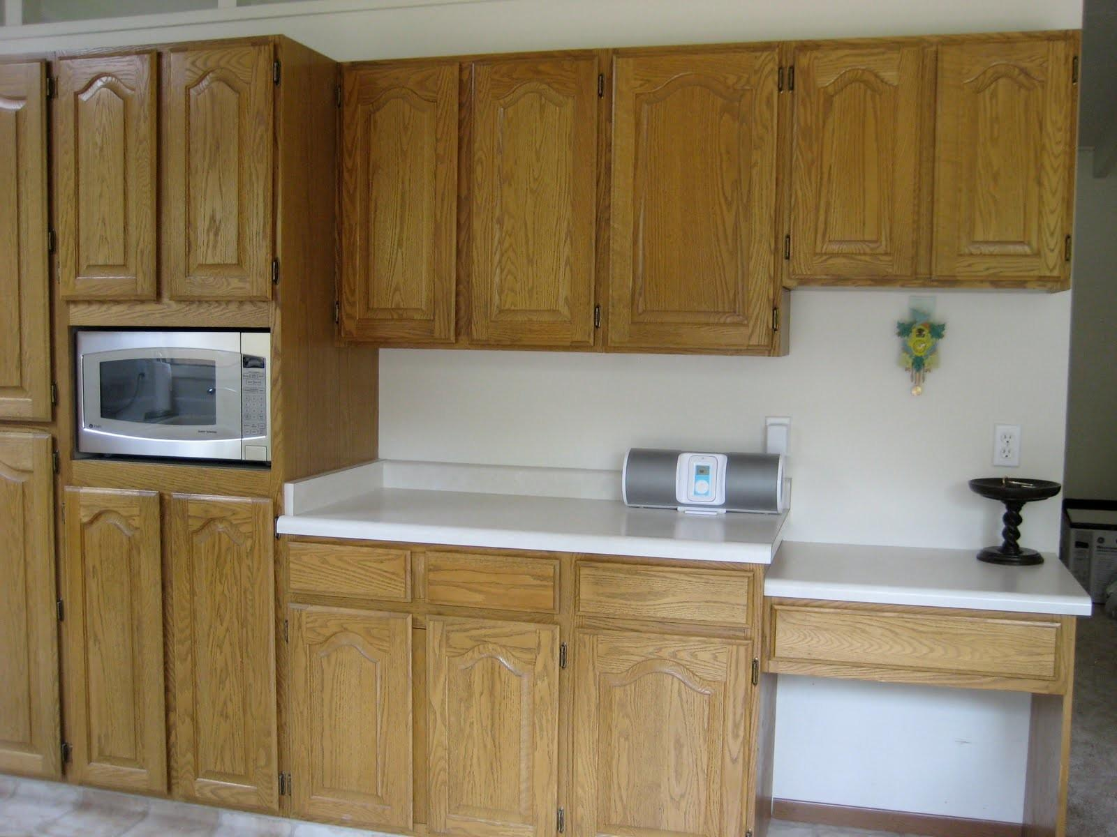 Diy Painted Kitchen Cabinets Before After Home