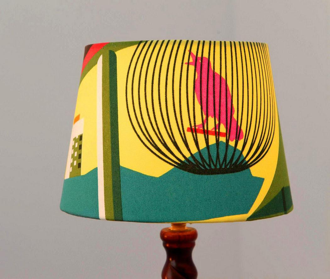 Diy Painted Lampshade Ideas Lamp Shade Brighten