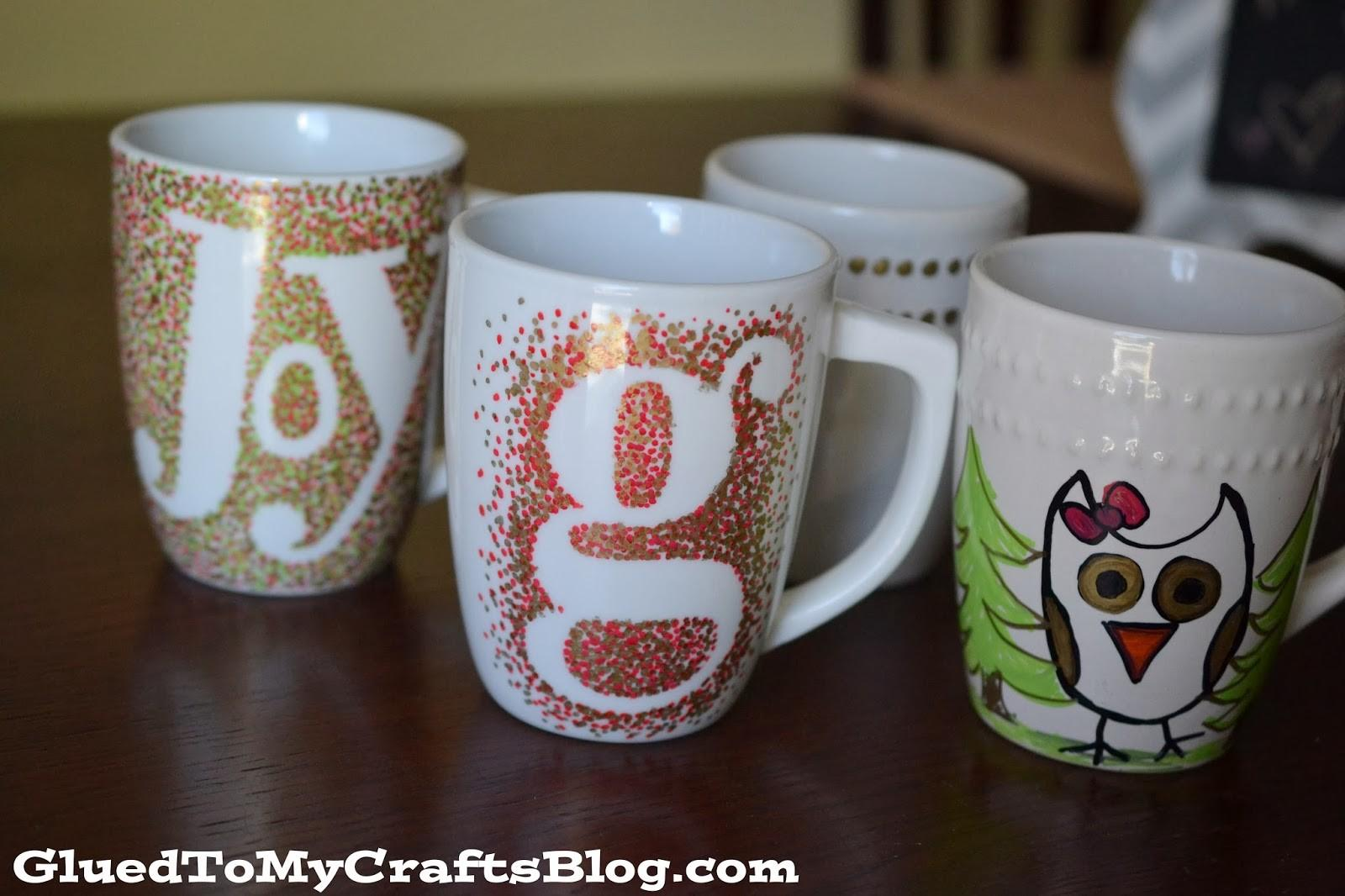 Diy Painted Mugs Won Wash Away Craft Glued