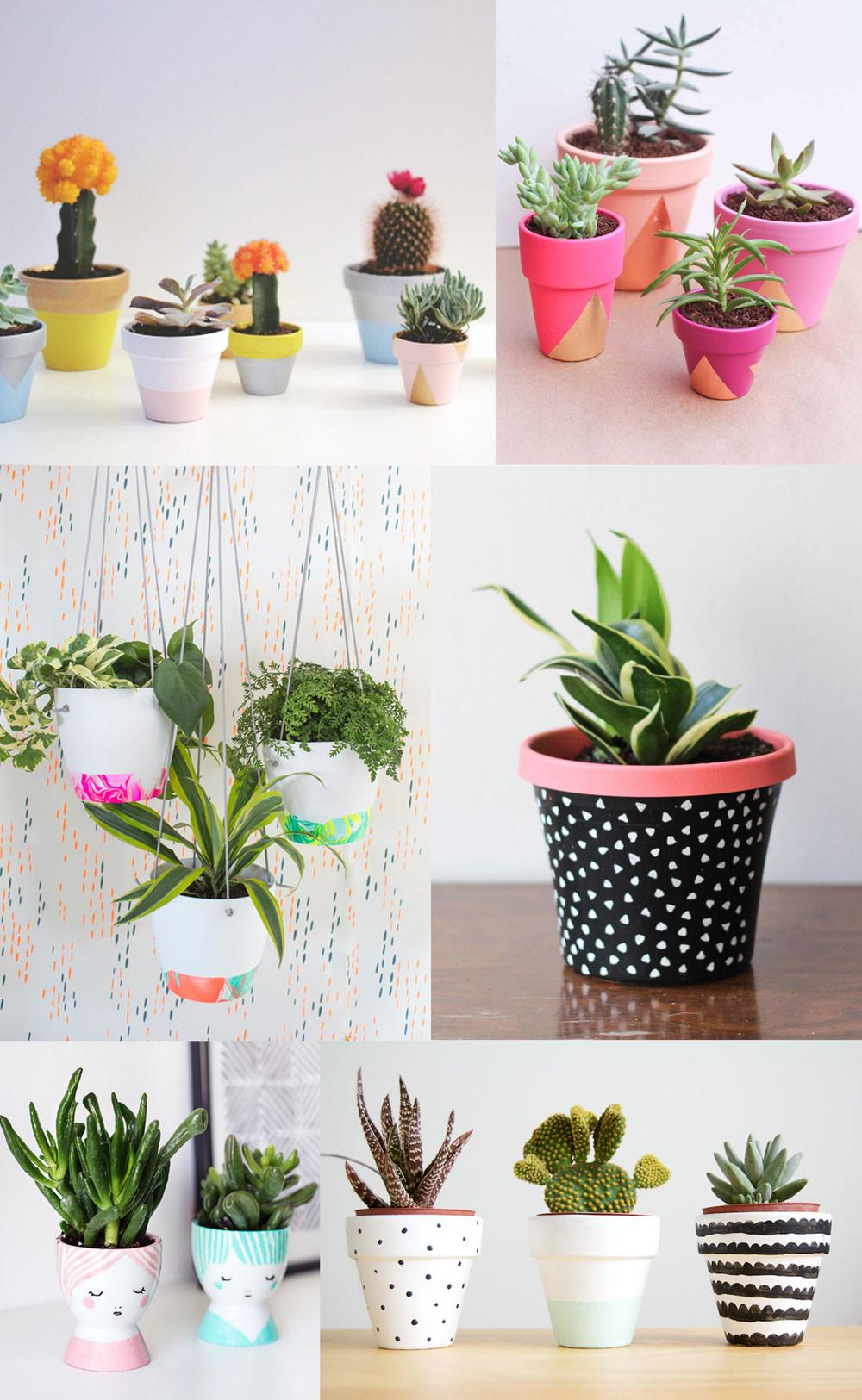 Diy Painted Pot Ideas Tell Love Party