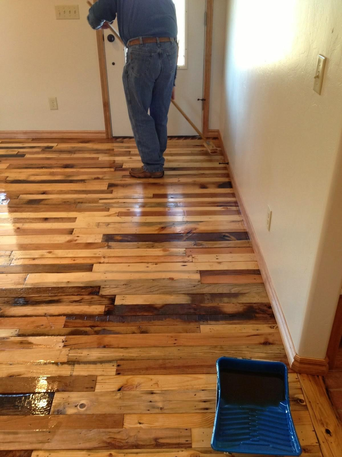 Diy Pallet Wood Flooring Craft Projects