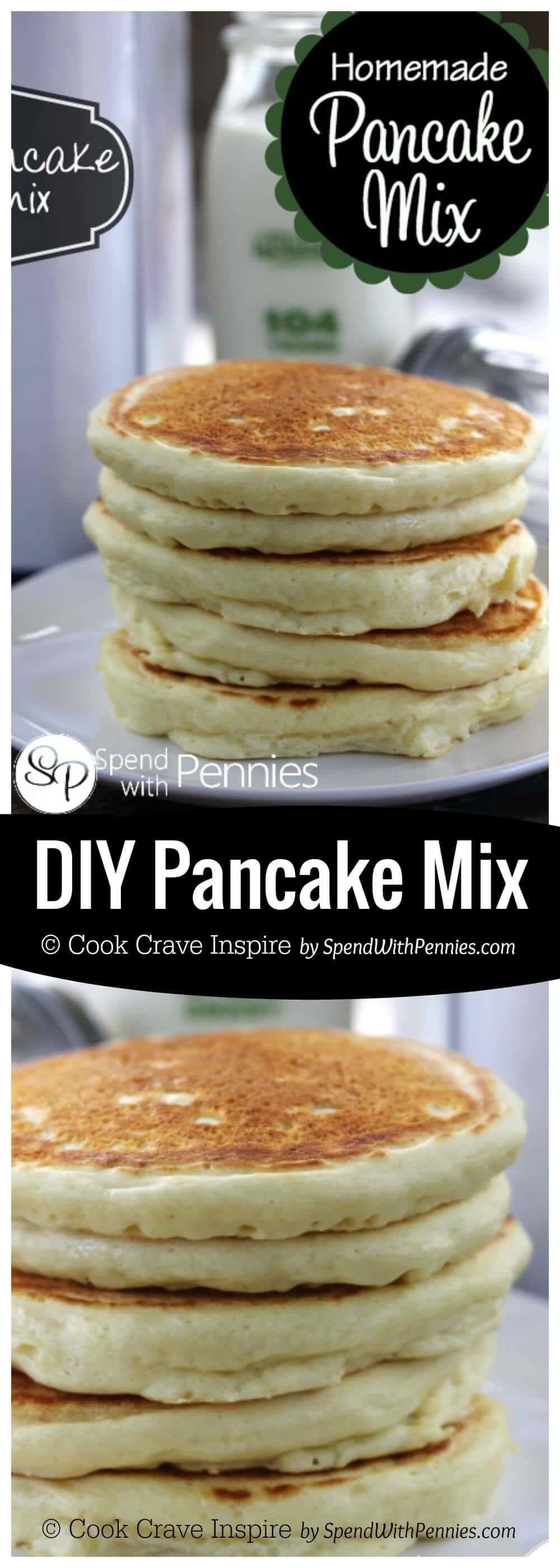 Diy Pancake Mix Recipe Spend Pennies