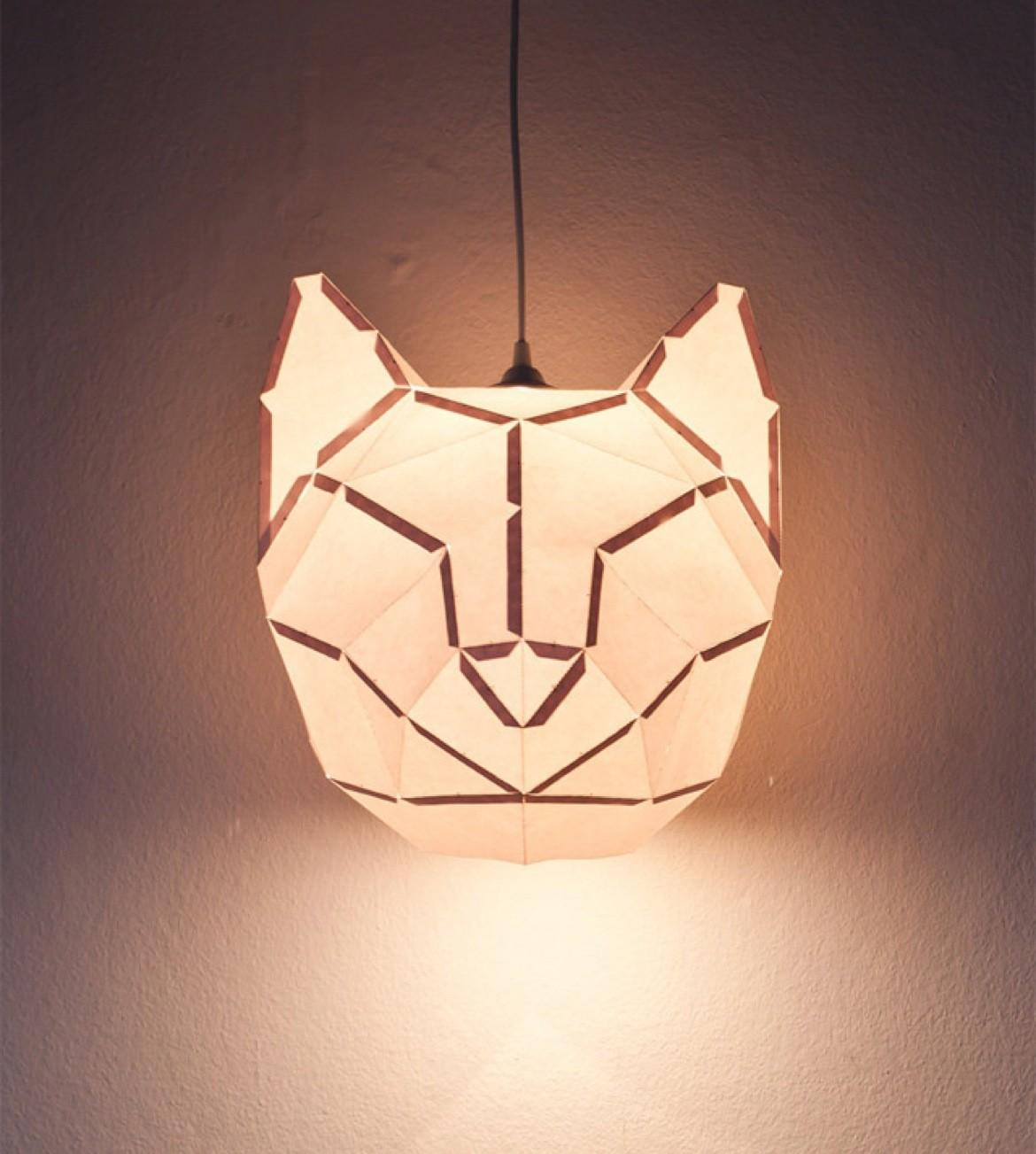 Diy Paper Animal Lights Jeff