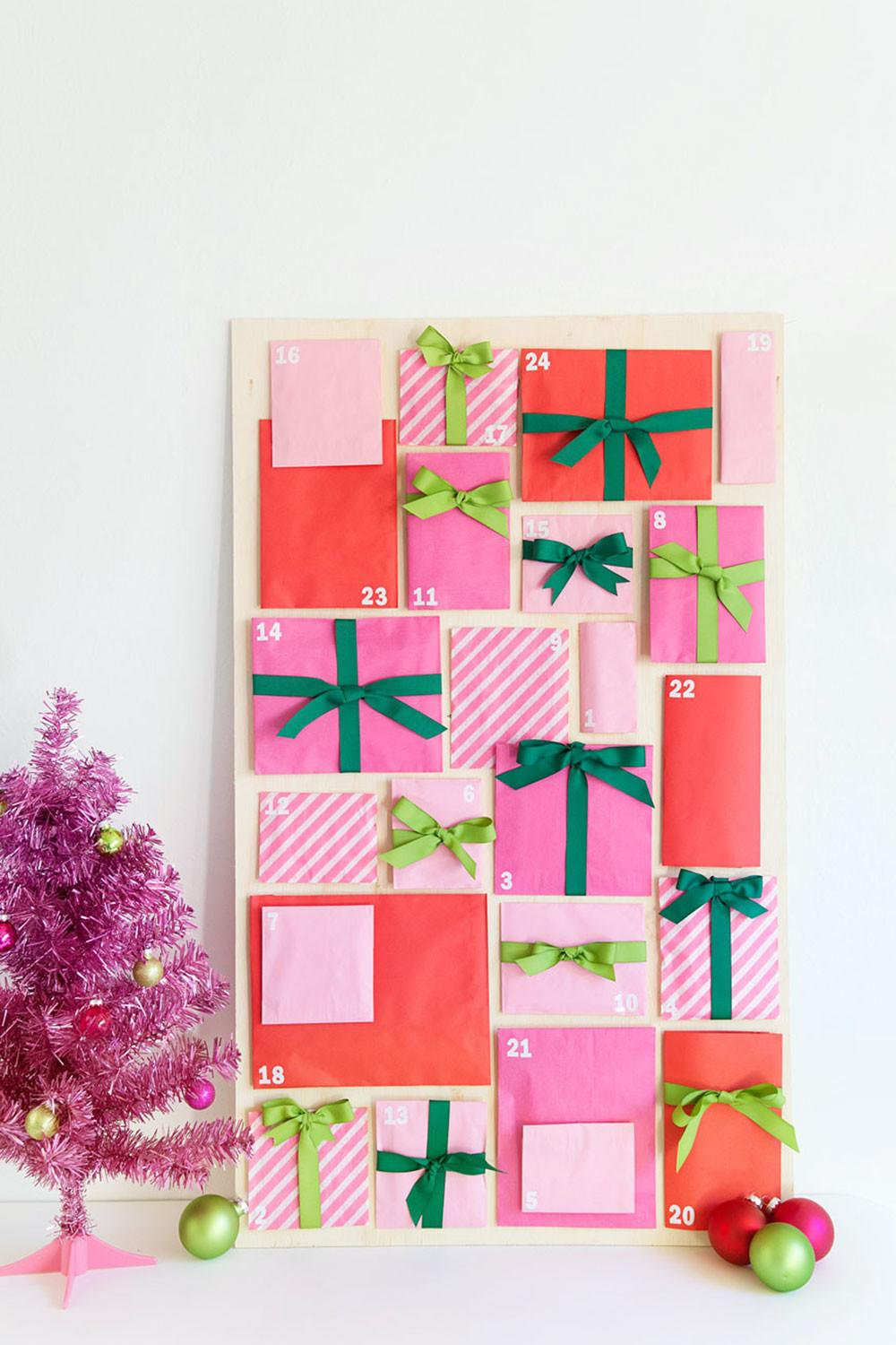 Diy Paper Bag Advent Calendar Tell Love Party